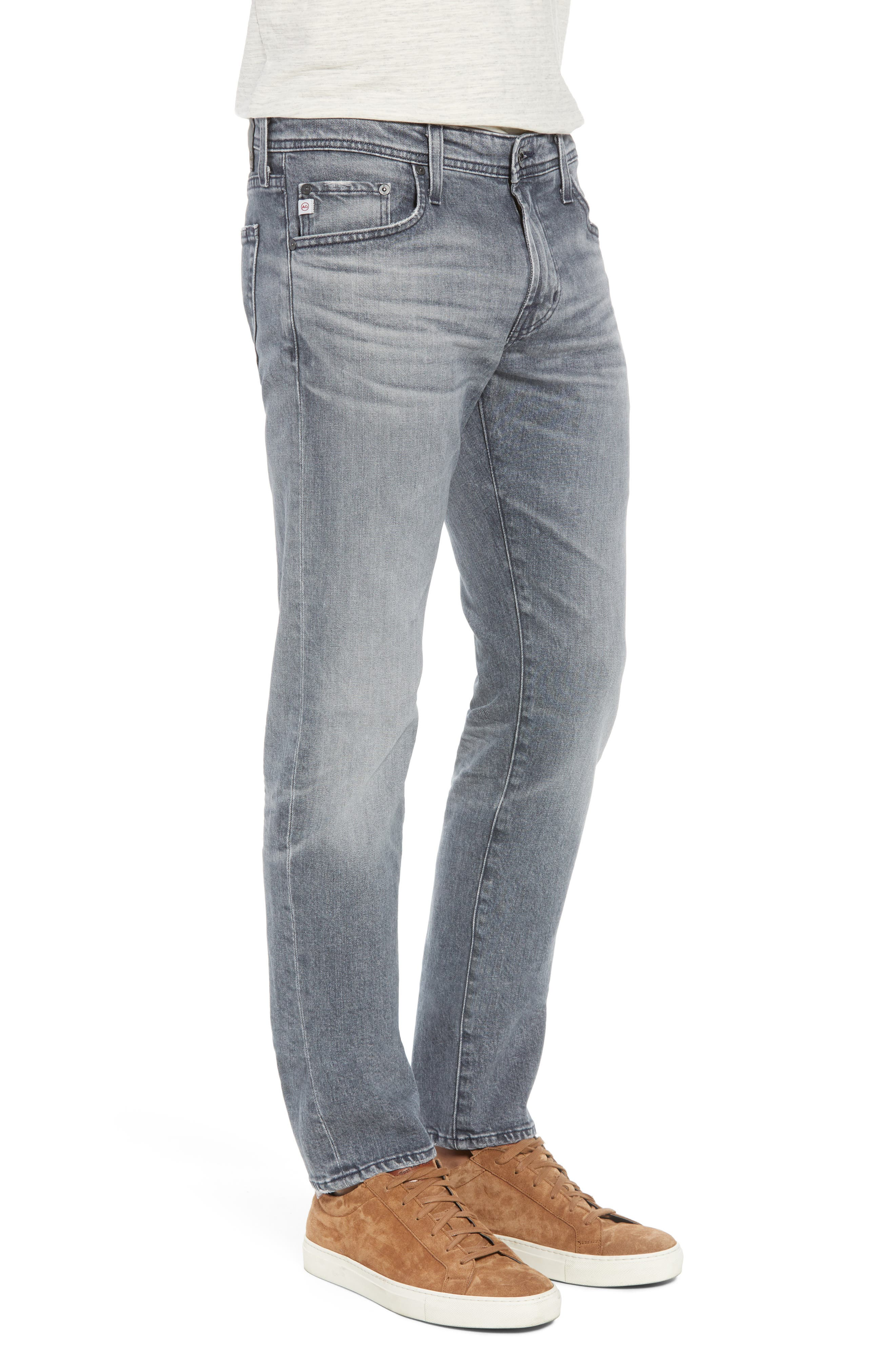 Tellis Slim Fit Jeans,                             Alternate thumbnail 3, color,                             020