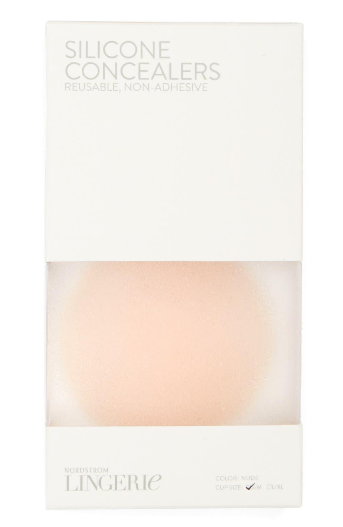 Non-Adhesive Silicone Breast Petals,                             Alternate thumbnail 3, color,                             270