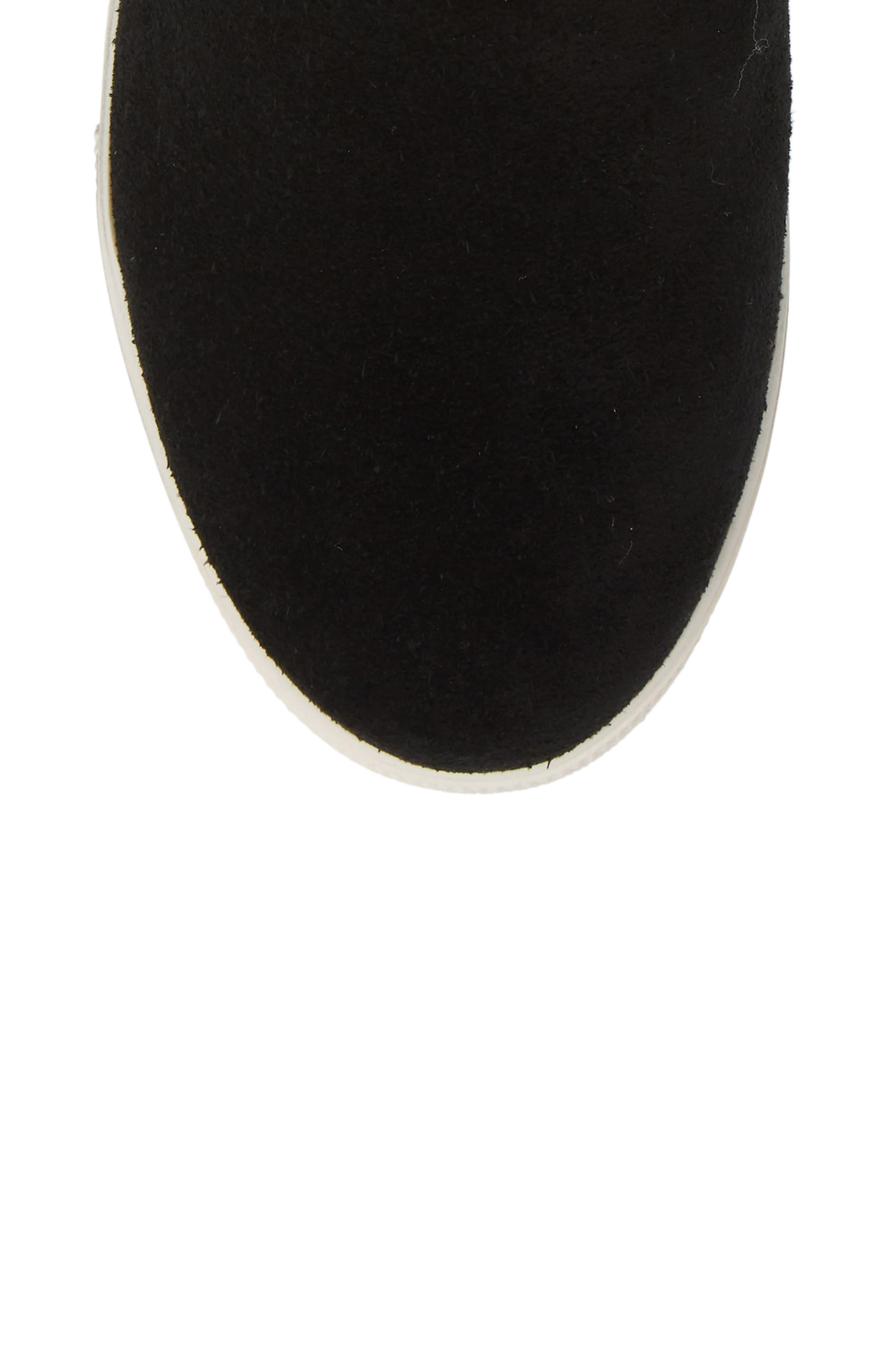 STEVE MADDEN,                             Faux Fur Lined Sneaker,                             Alternate thumbnail 5, color,                             006