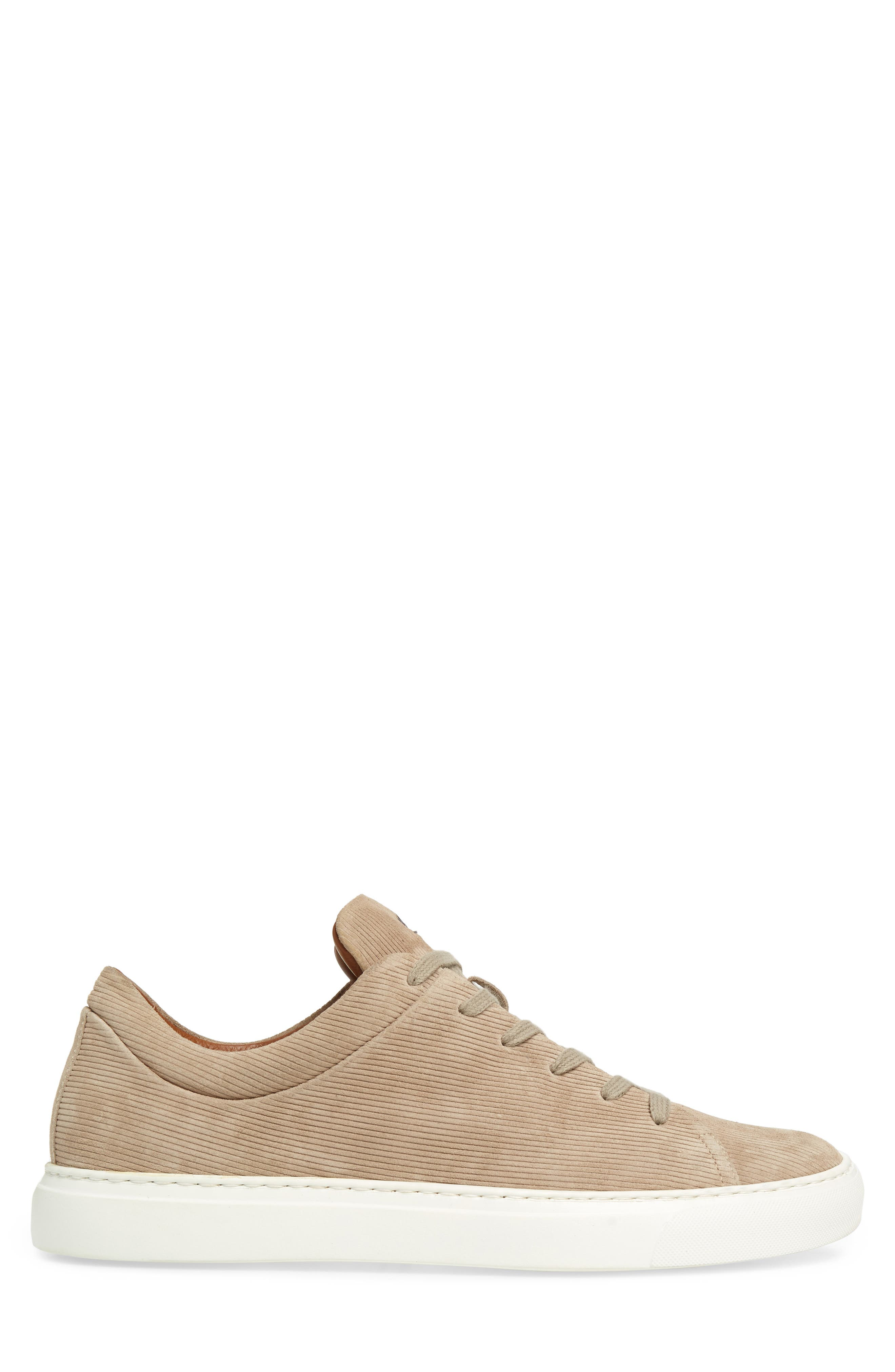 Alaric Sneaker,                             Alternate thumbnail 3, color,                             SAND