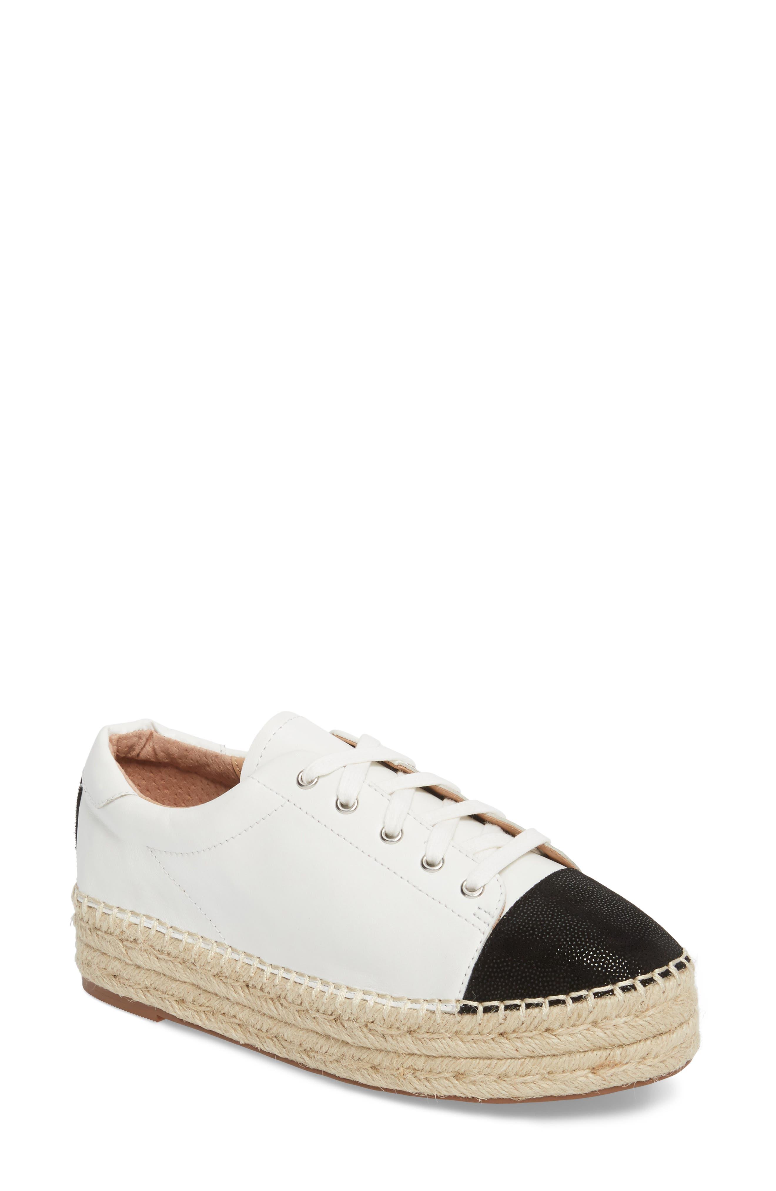Sierra Espadrille Platform Sneaker,                         Main,                         color, 108