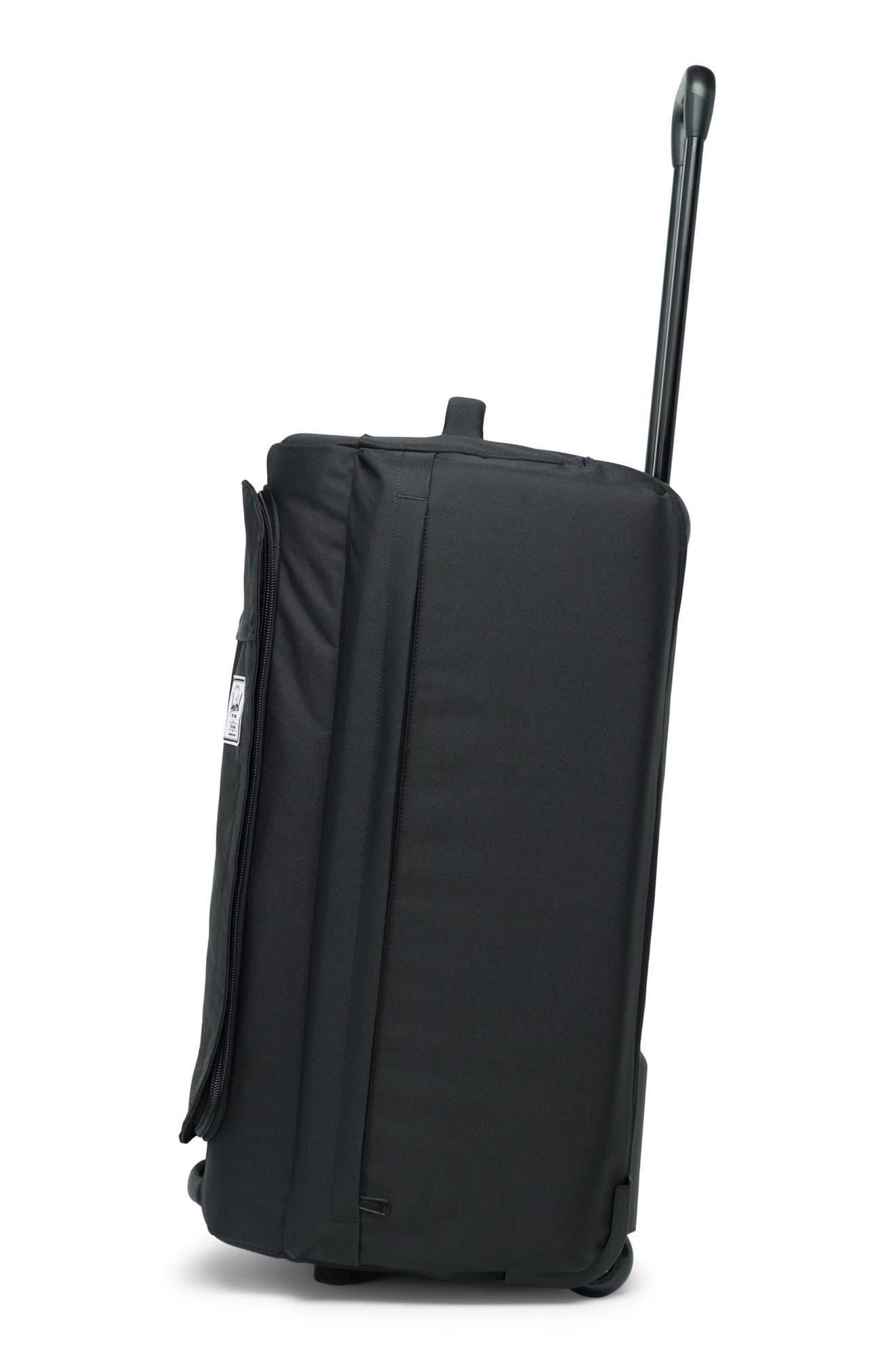 Wheelie Outfitter 24-Inch Duffel Bag,                             Alternate thumbnail 5, color,                             BLACK