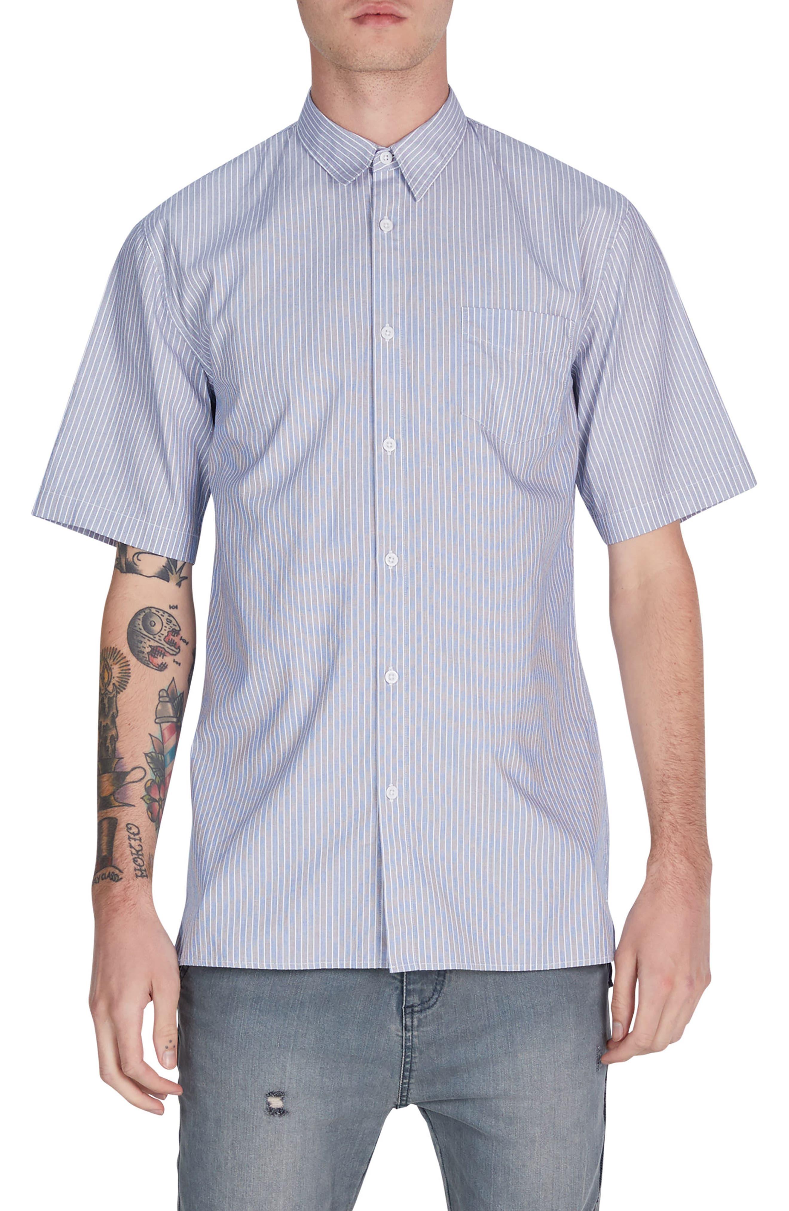 Stripe Box Shirt,                             Main thumbnail 1, color,