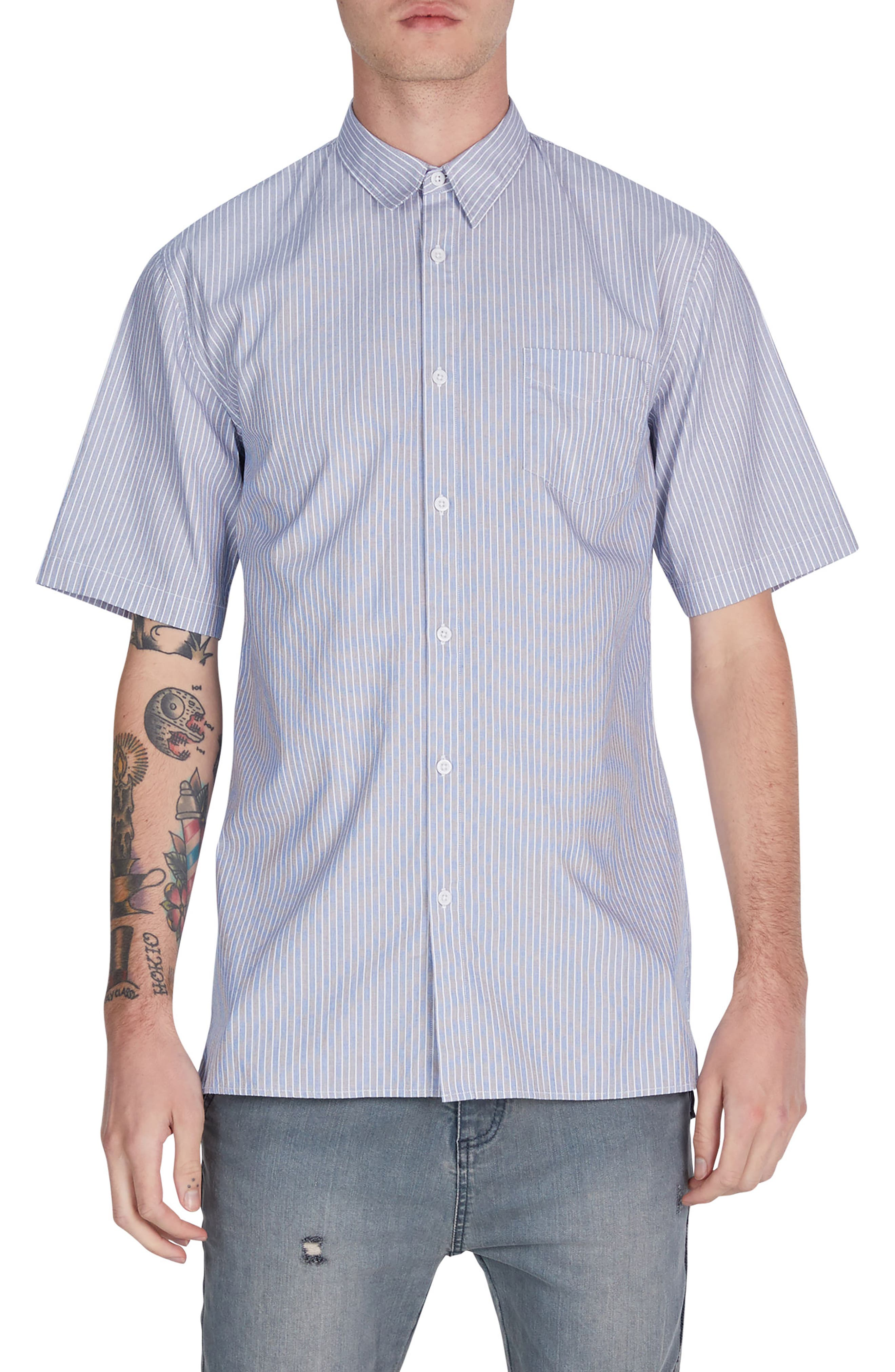 Stripe Box Shirt,                         Main,                         color,