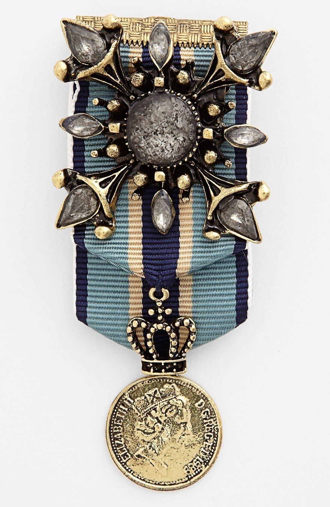 CARA,                             'Royal Highness' Military Pin,                             Main thumbnail 1, color,                             440