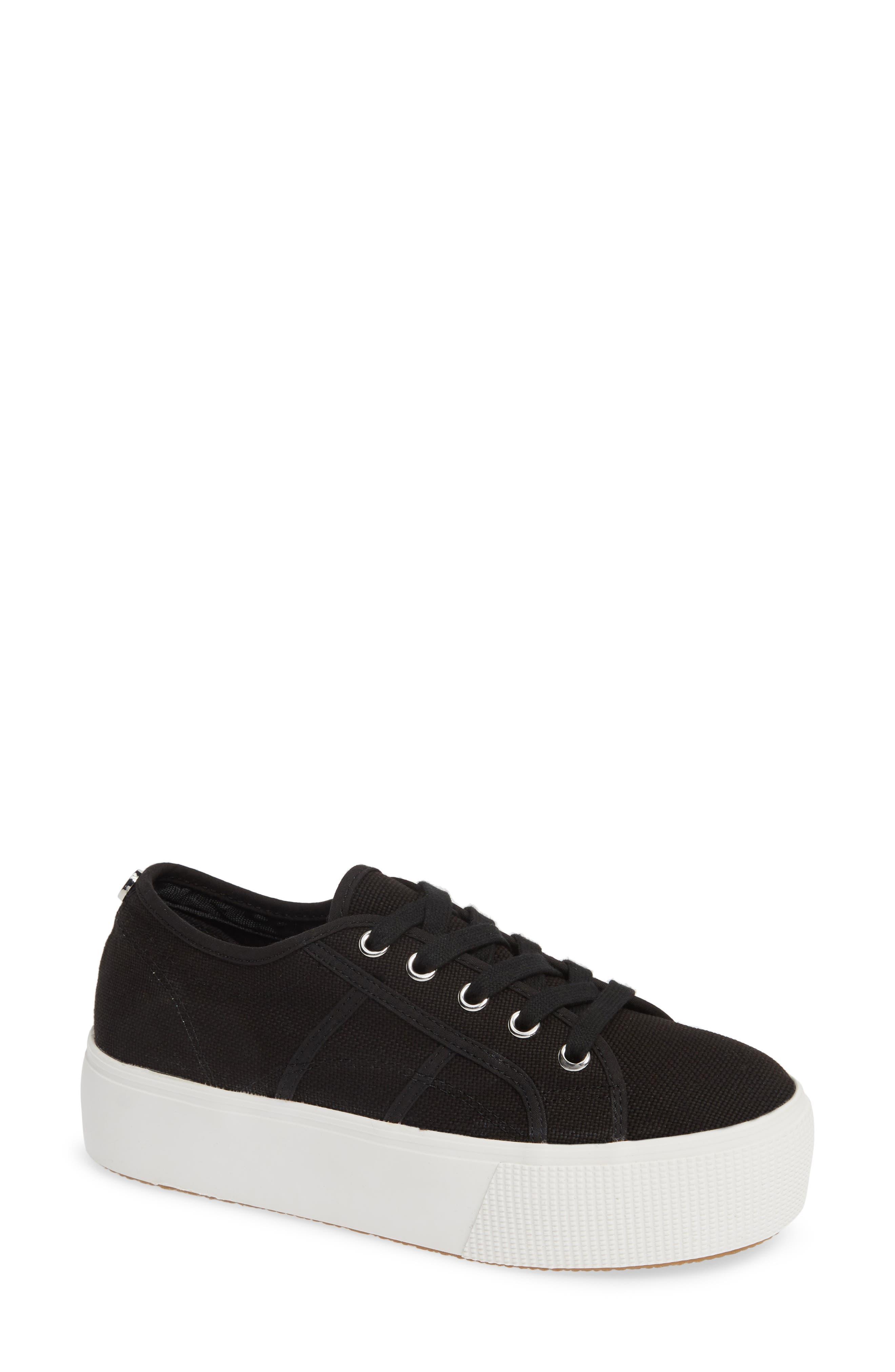 STEVE MADDEN Emmi Platform Sneaker, Main, color, BLACK