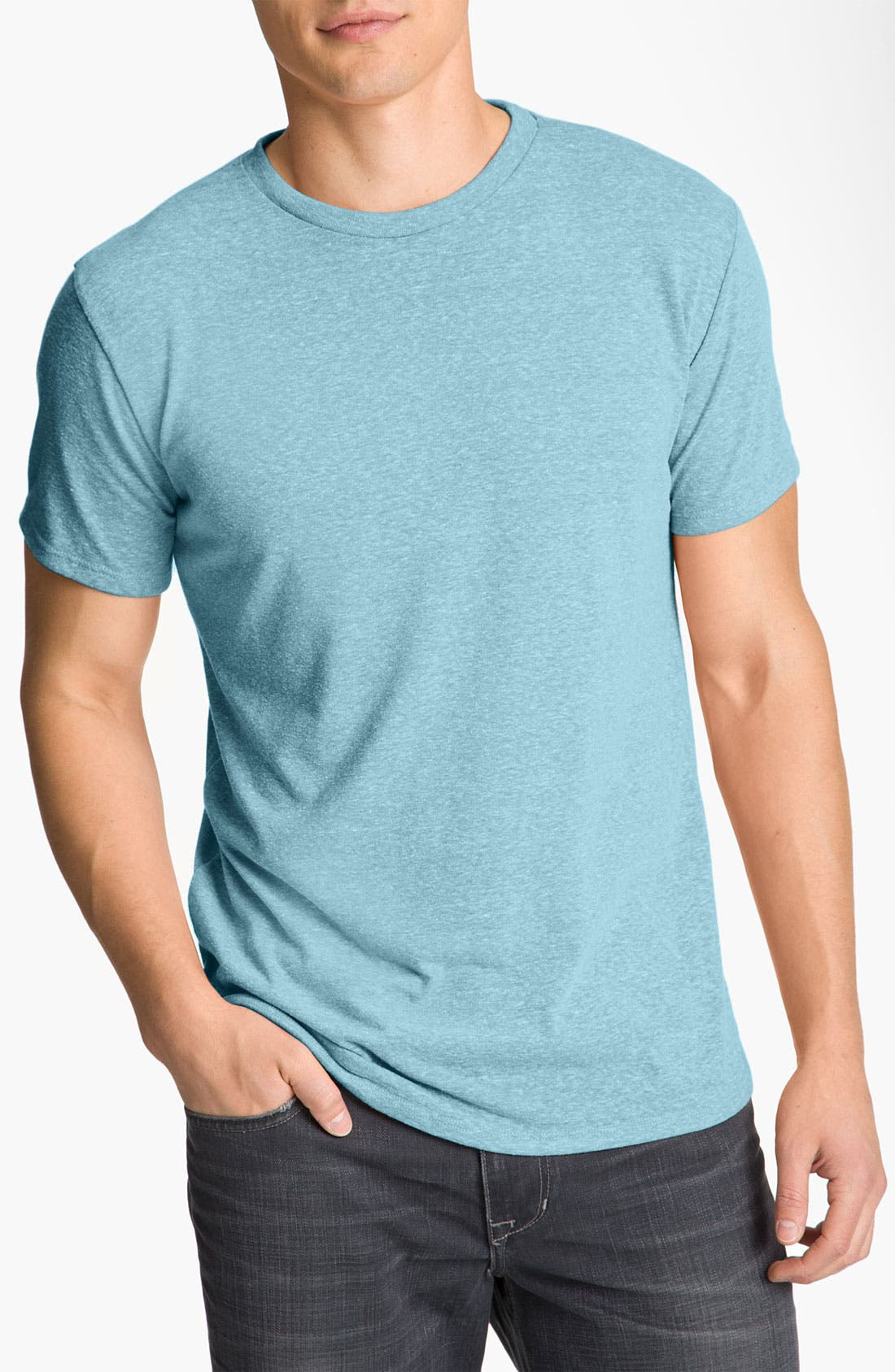 Threads for Thought Heathered Crew Neck,                             Main thumbnail 10, color,