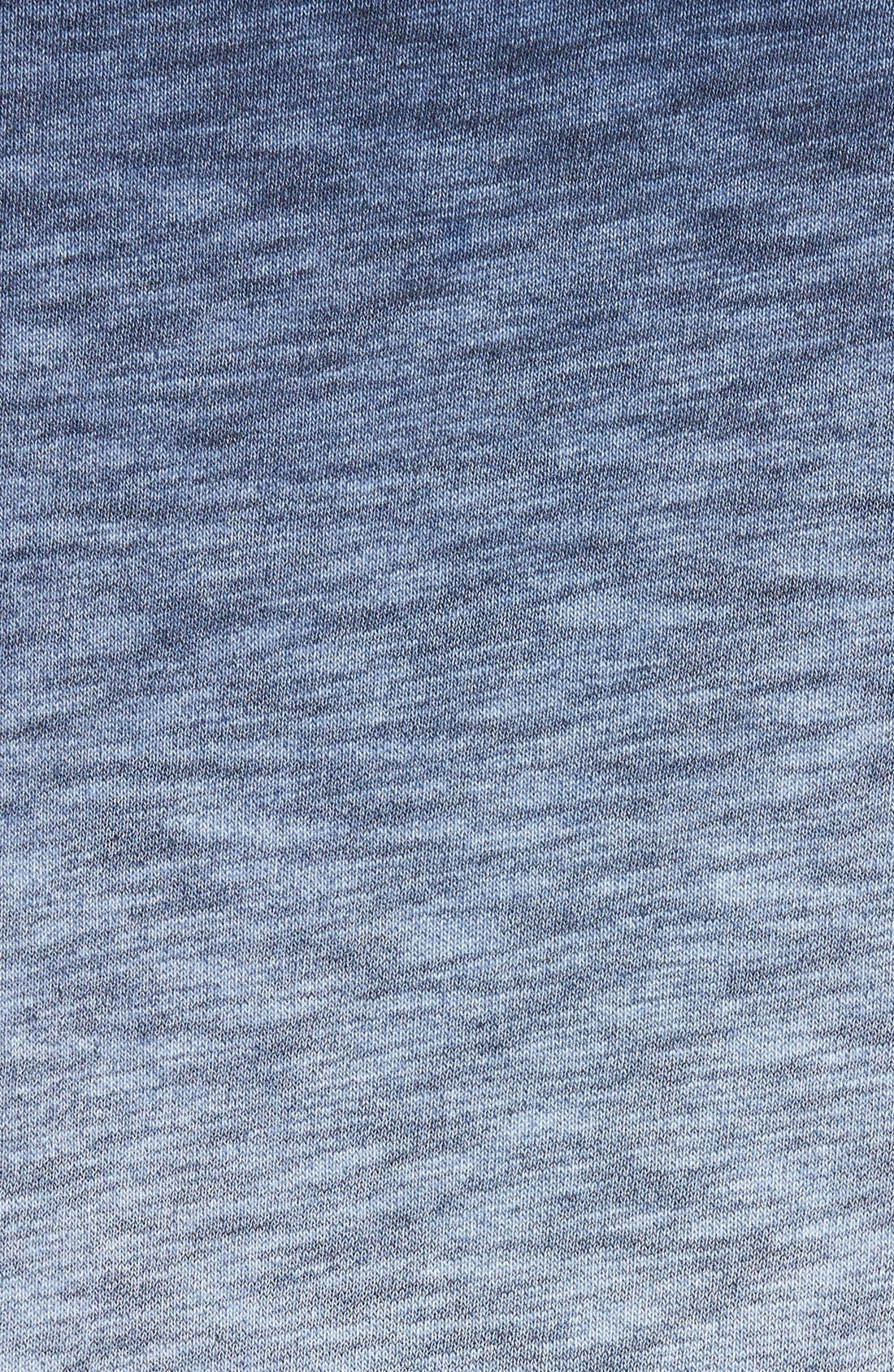 'Santiago' Ombré Crewneck Sweatshirt,                             Alternate thumbnail 5, color,