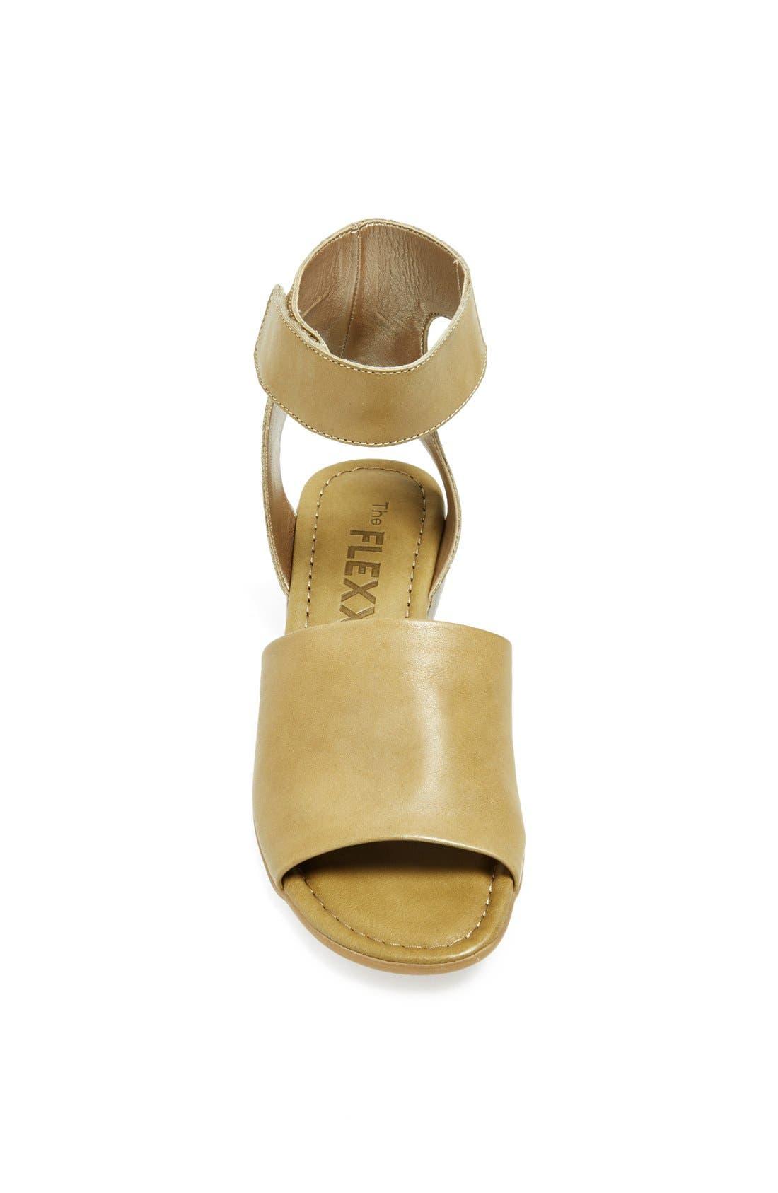 'Beglad' Leather Ankle Strap Sandal,                             Alternate thumbnail 45, color,