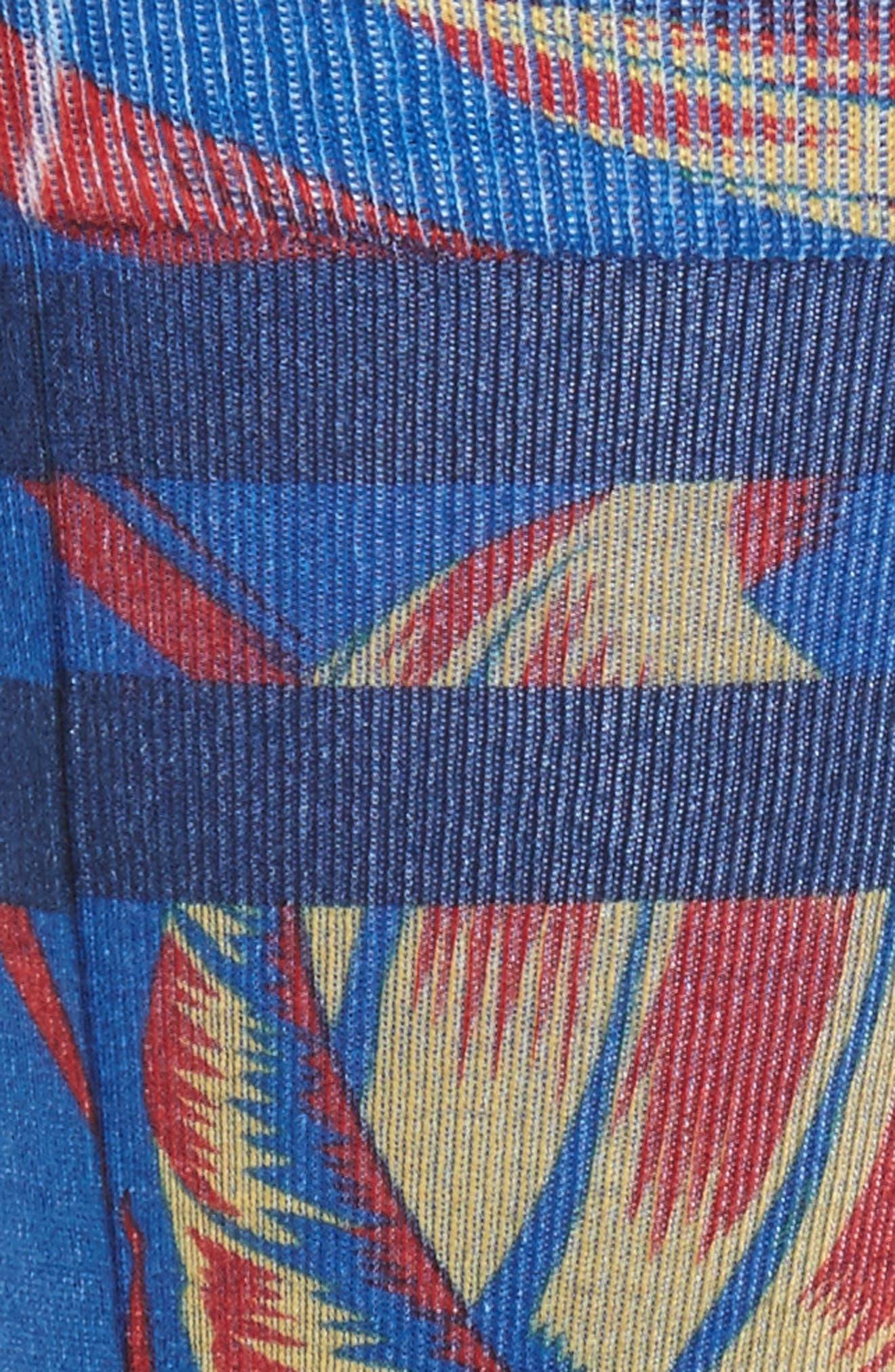 Floralite Crew Socks,                             Alternate thumbnail 4, color,