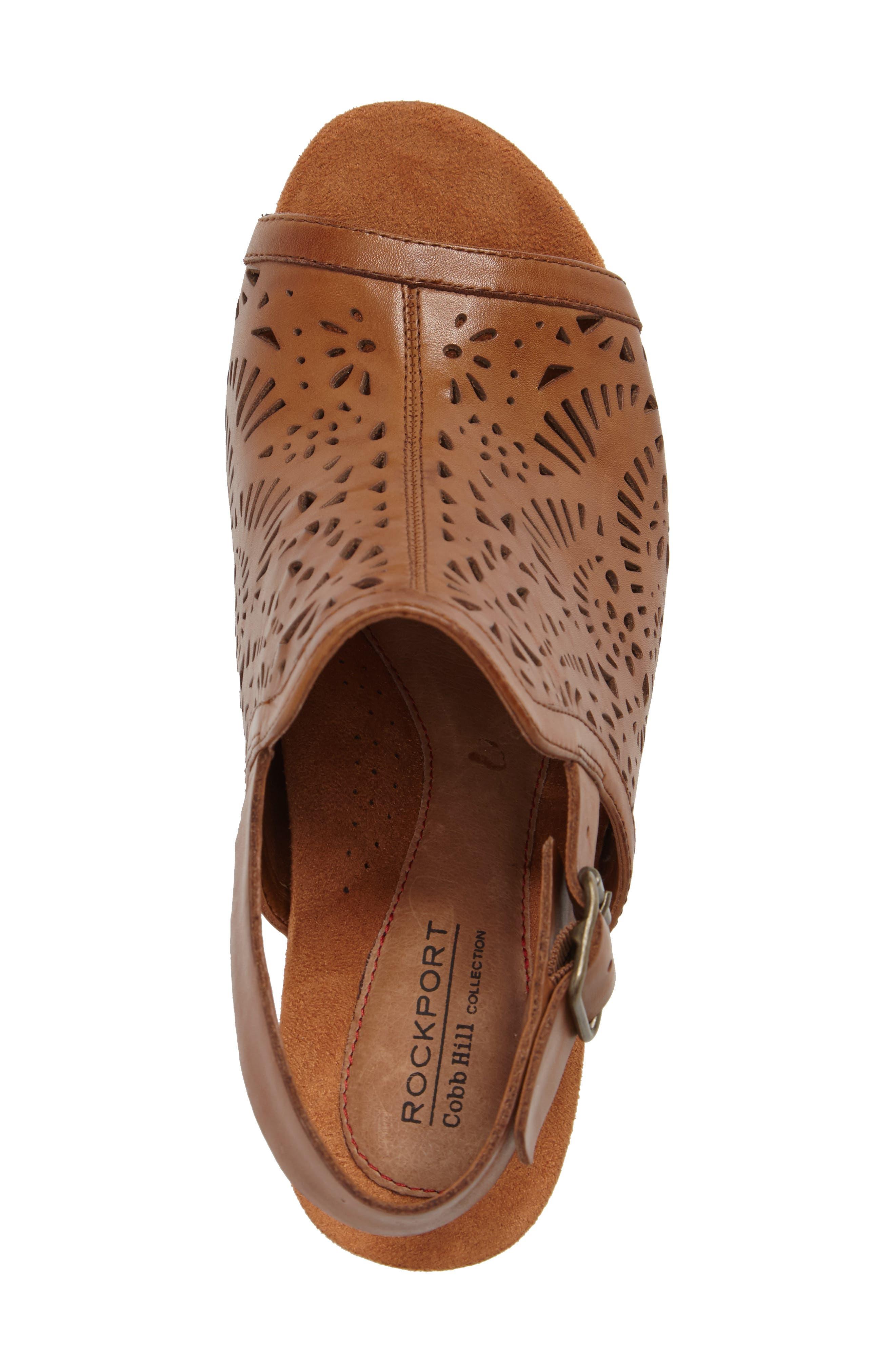 Tropez Block Heel Sandal,                             Alternate thumbnail 19, color,