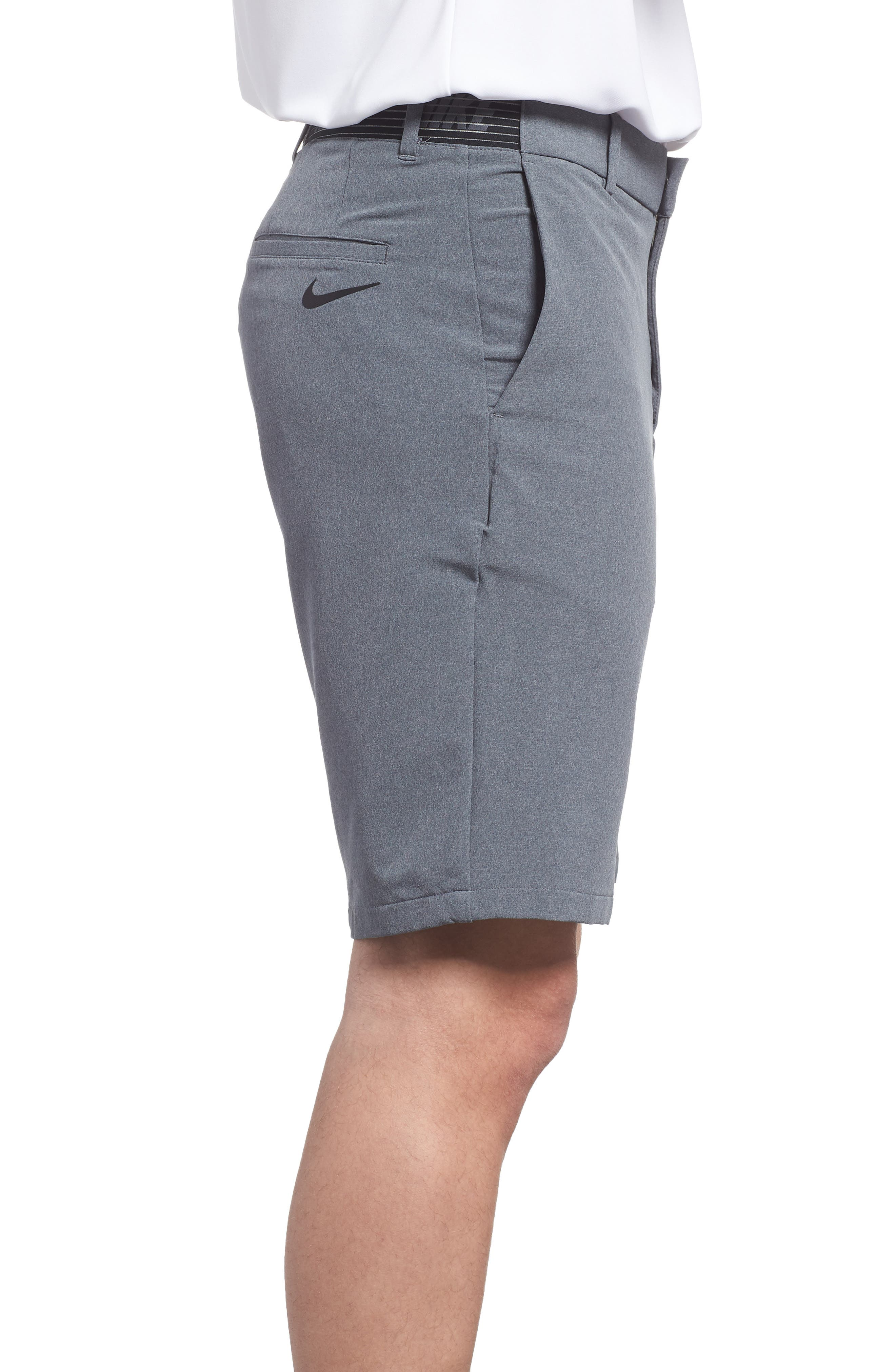 Dry Flex Slim Fit Golf Shorts,                             Alternate thumbnail 3, color,                             001