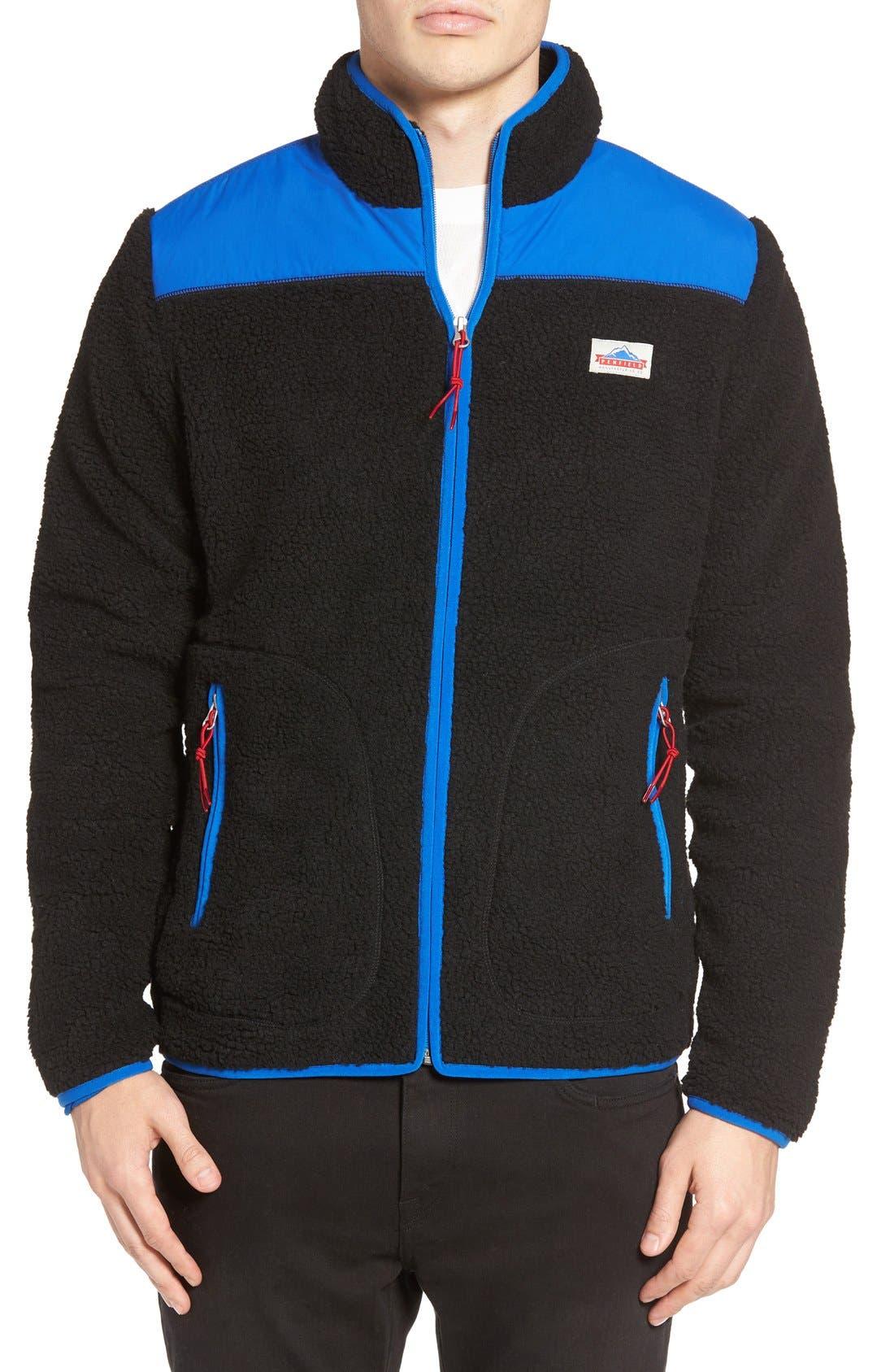 Mattawa Zip Fleece Jacket,                             Alternate thumbnail 2, color,                             001