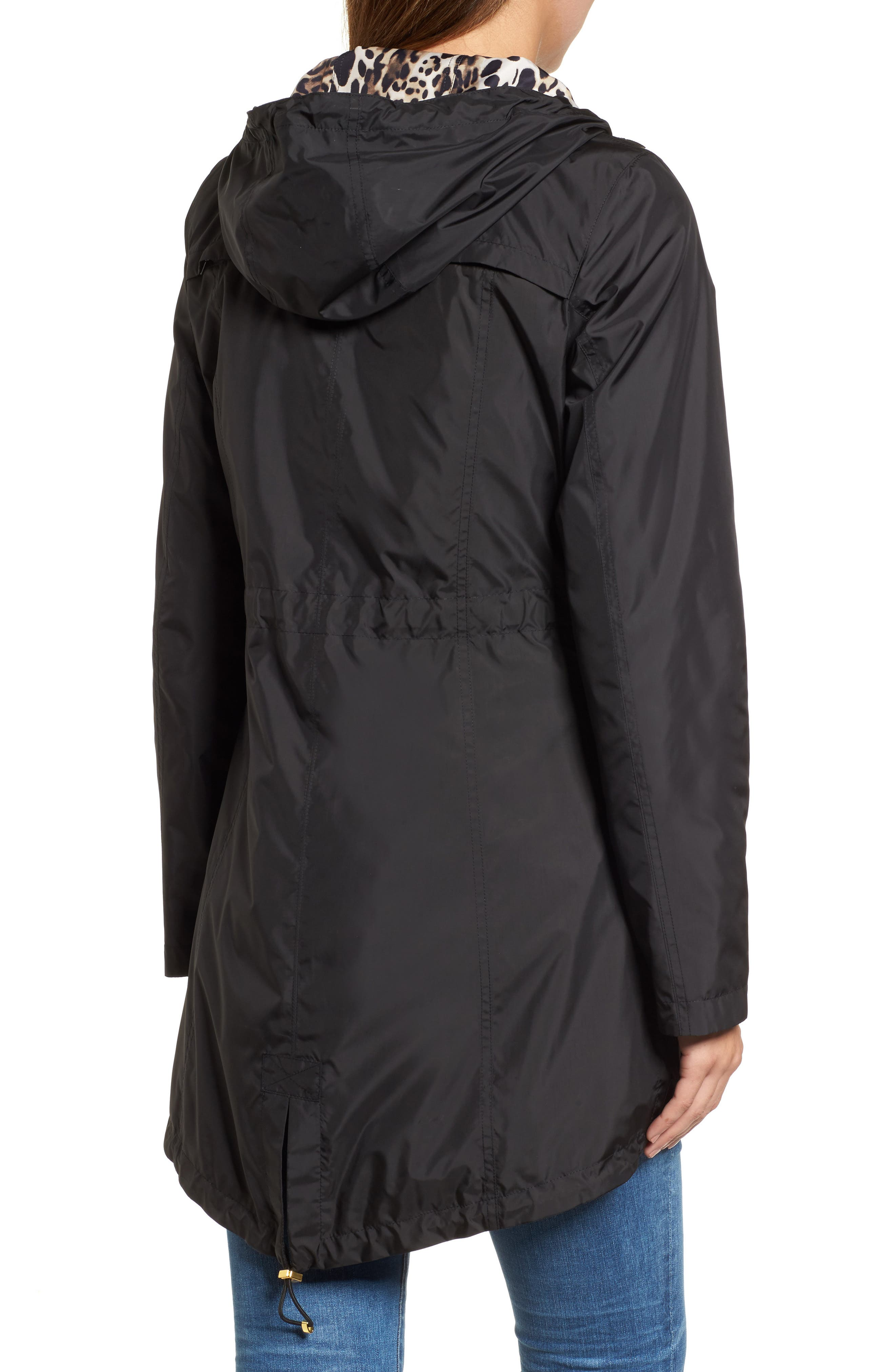 Packable Hooded Anorak,                             Alternate thumbnail 2, color,                             001