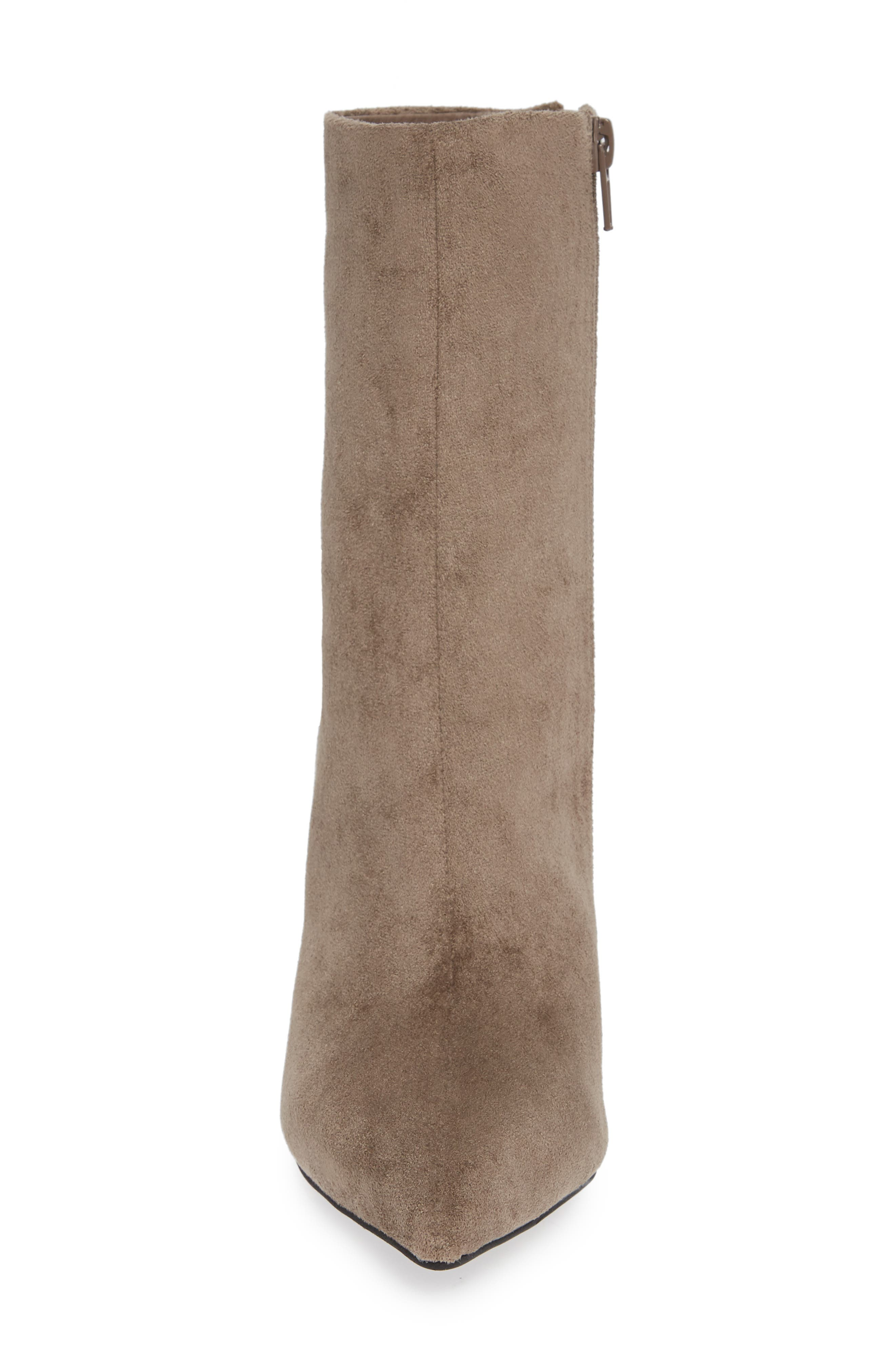 Lustful Bootie,                             Alternate thumbnail 4, color,                             TAUPE SUEDE