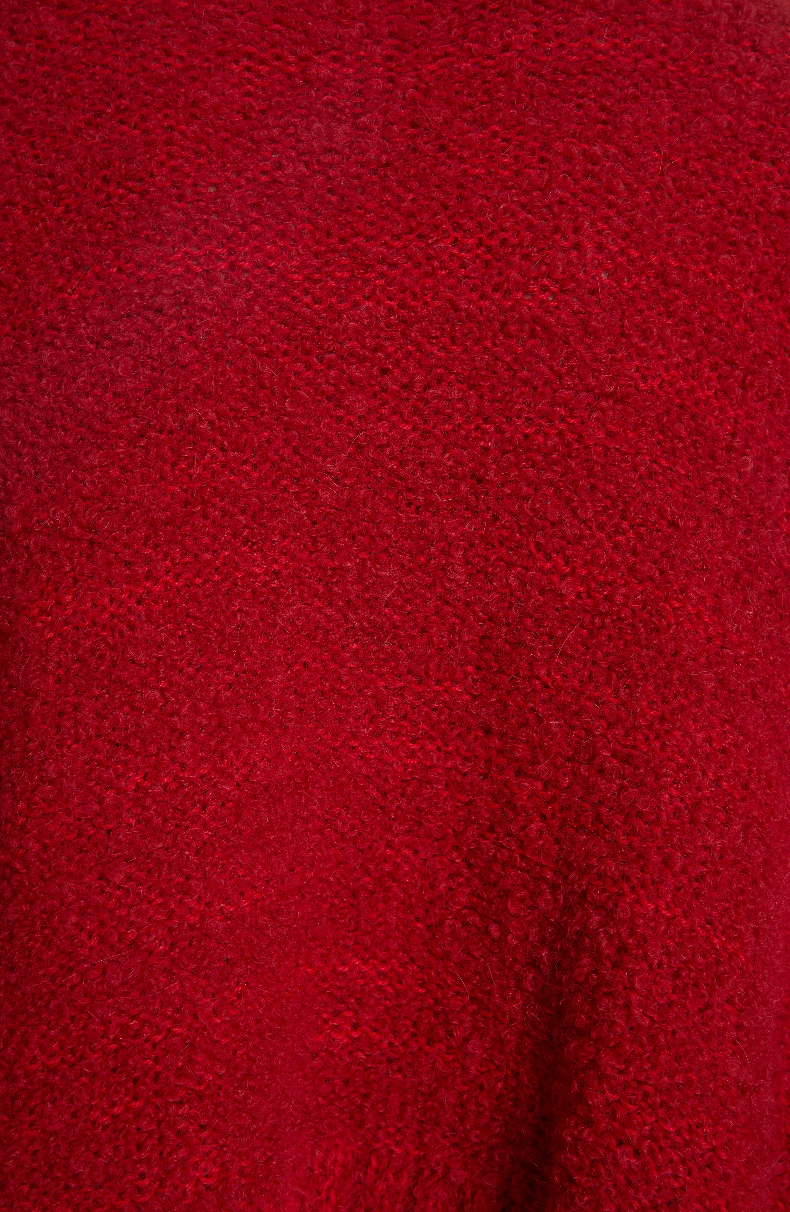 Alpaca & Wool Blend Swing Turtleneck,                             Alternate thumbnail 5, color,                             600