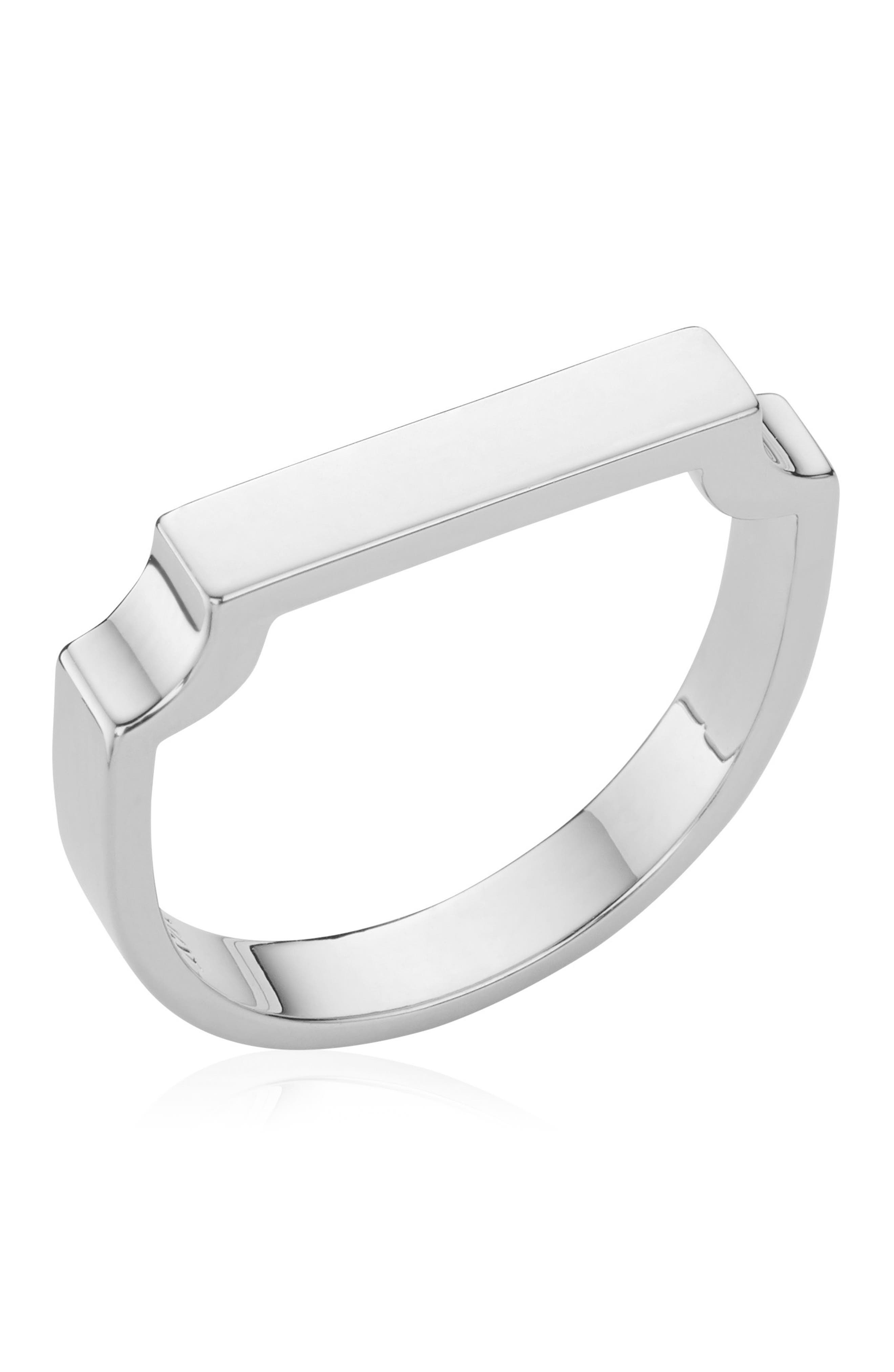 Signature Ring,                             Alternate thumbnail 4, color,                             SILVER