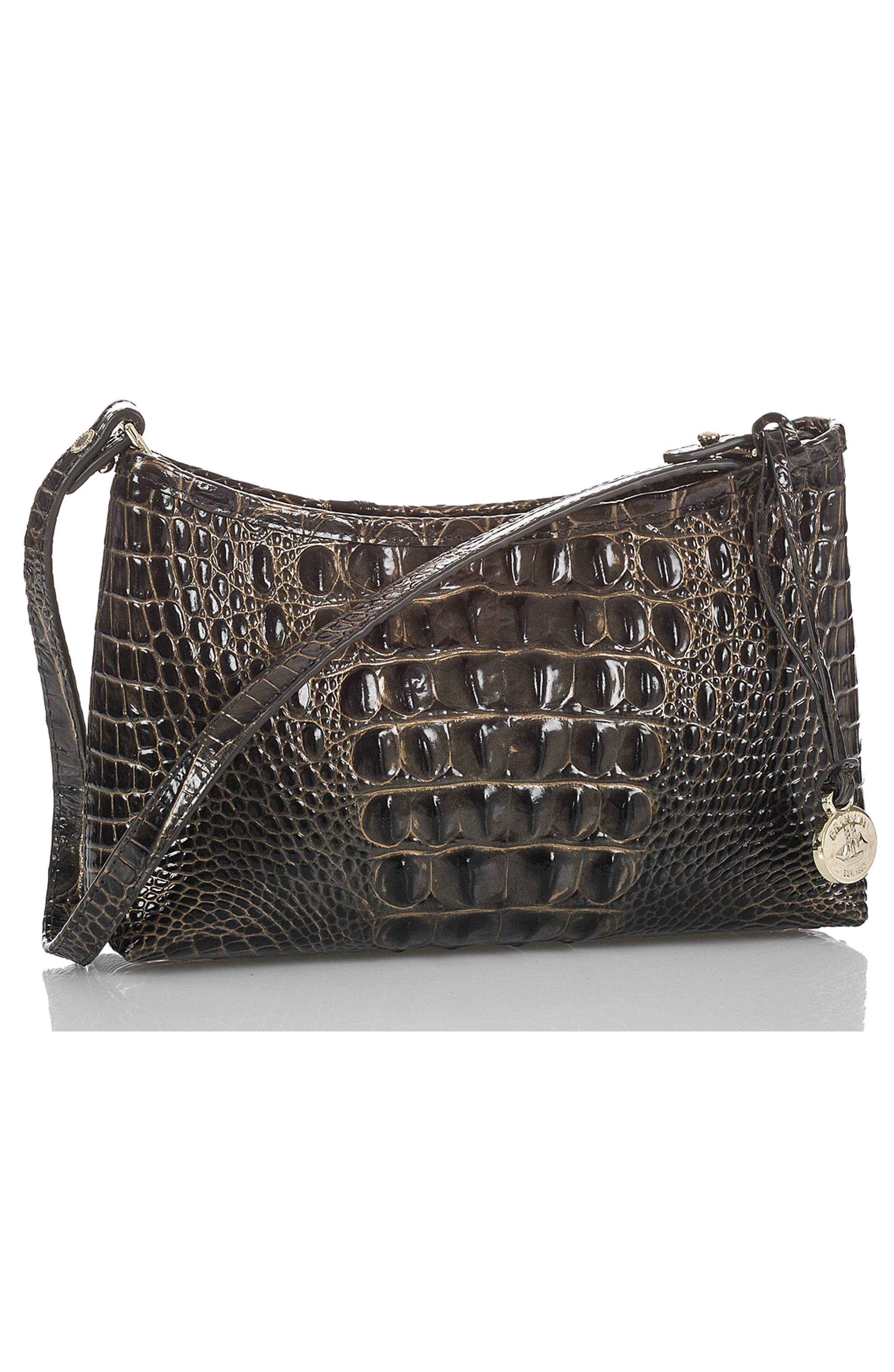 'Anytime - Mini' Convertible Handbag,                             Alternate thumbnail 4, color,                             GRAPHITE