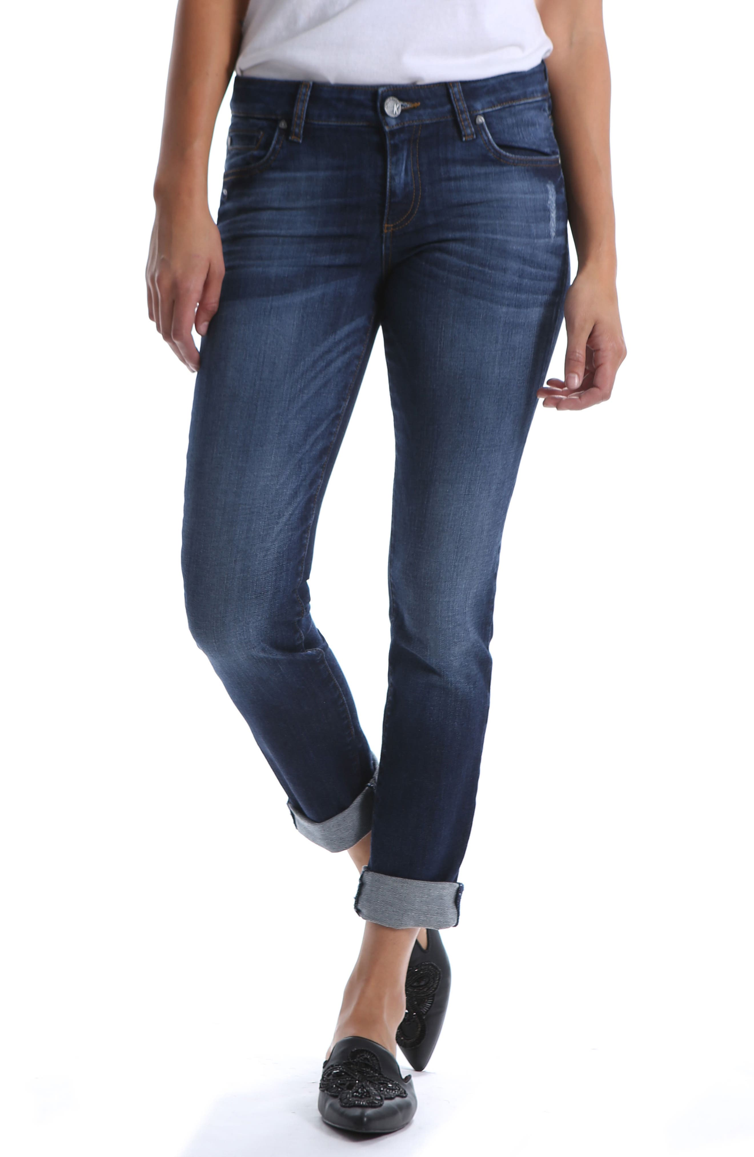 Catherine Distressed Boyfriend Jeans,                         Main,                         color, 400