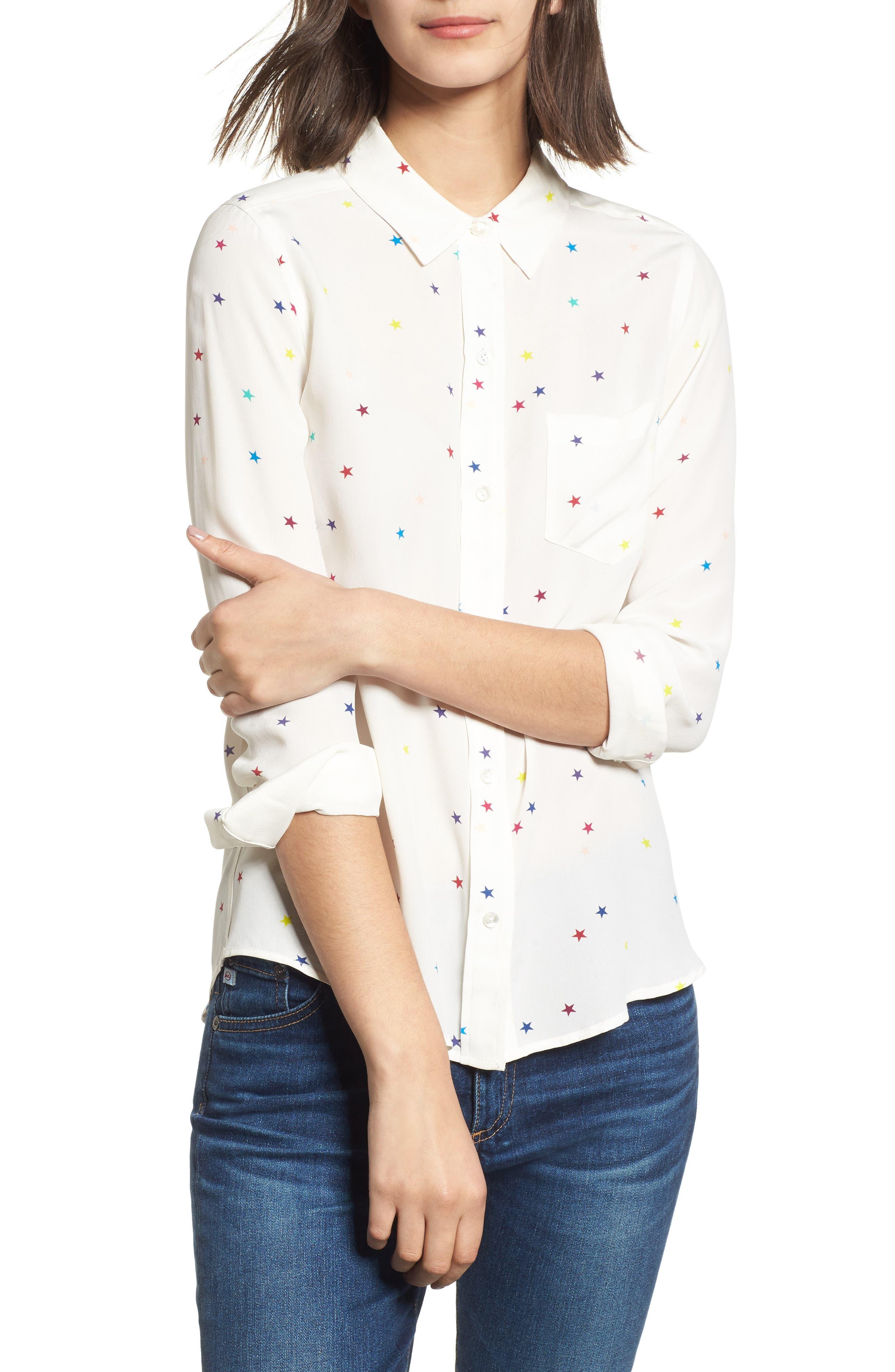 Kate Print Shirt,                             Main thumbnail 10, color,