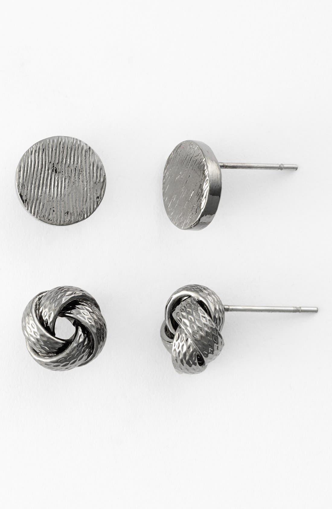CARA,                             Stud Earrings,                             Main thumbnail 1, color,                             001