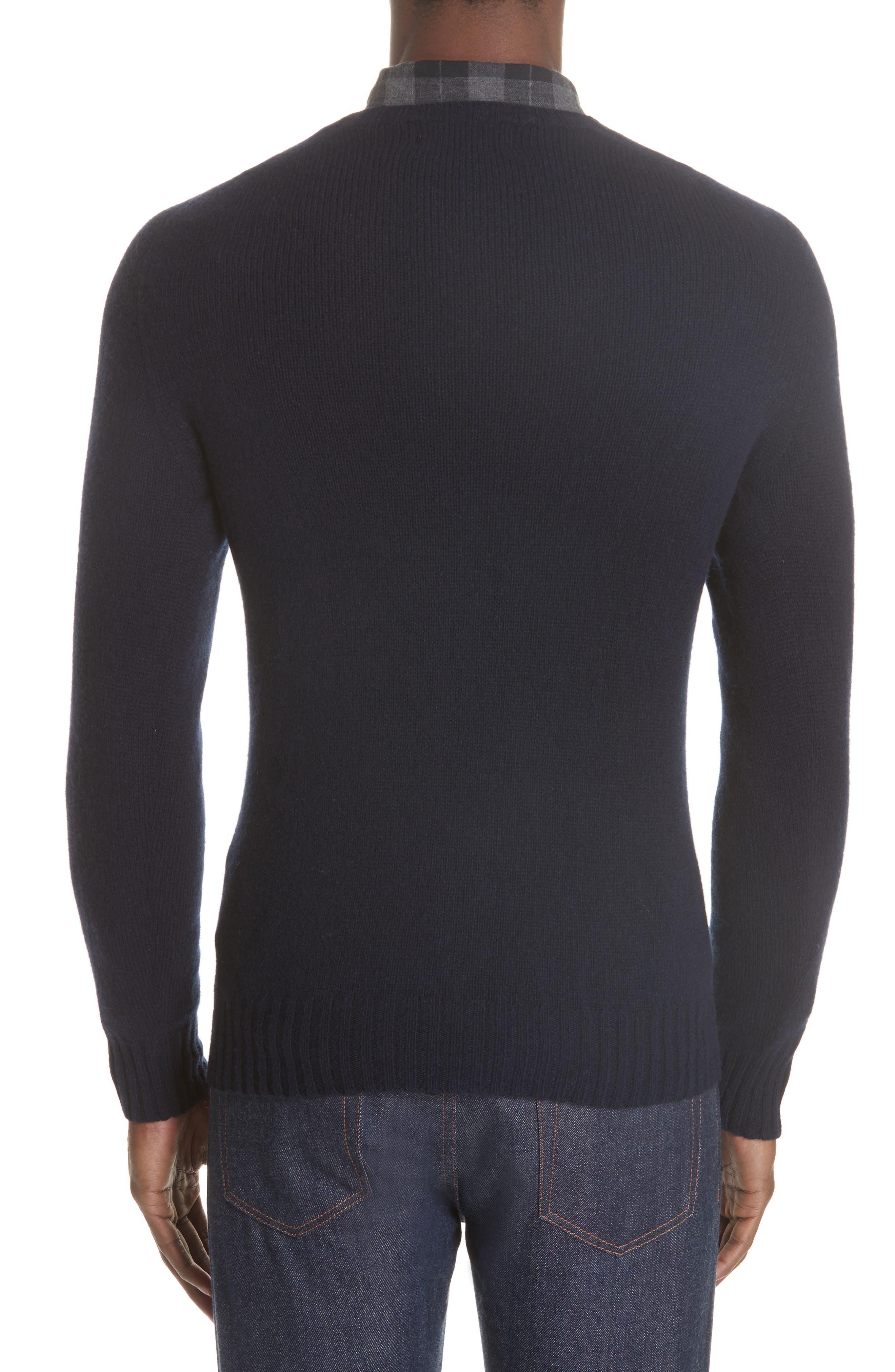 Officine Générale Wool Crewneck Sweater,                             Alternate thumbnail 2, color,                             410