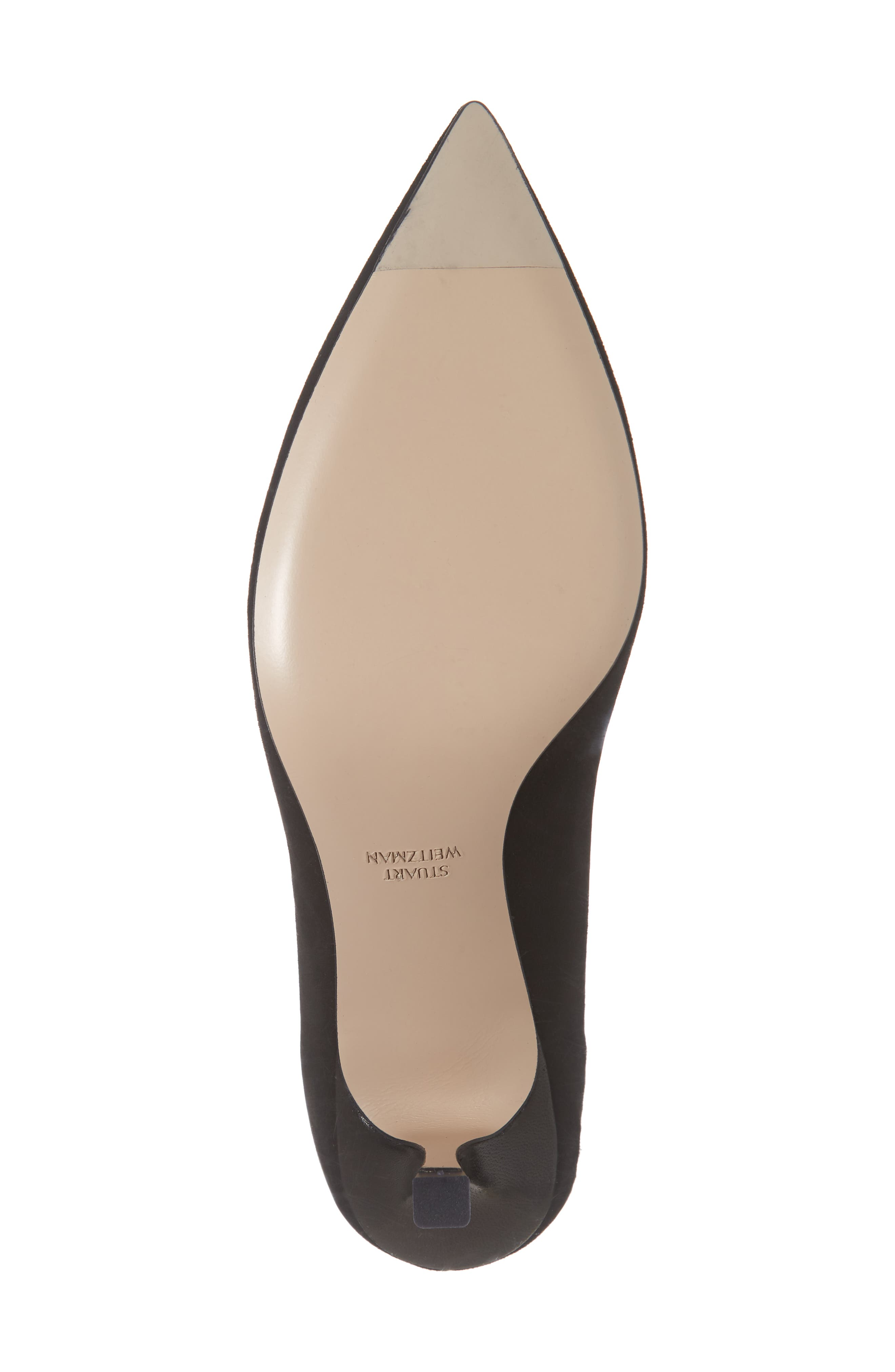 Tippi 70 Pointy Toe Pump,                             Alternate thumbnail 6, color,                             PITCH BLACK