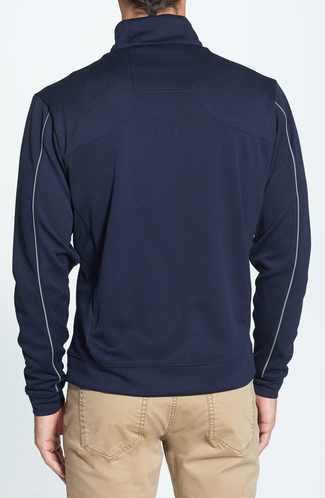 DryTec Half Zip Pullover,                             Alternate thumbnail 2, color,                             NAVY BLUE