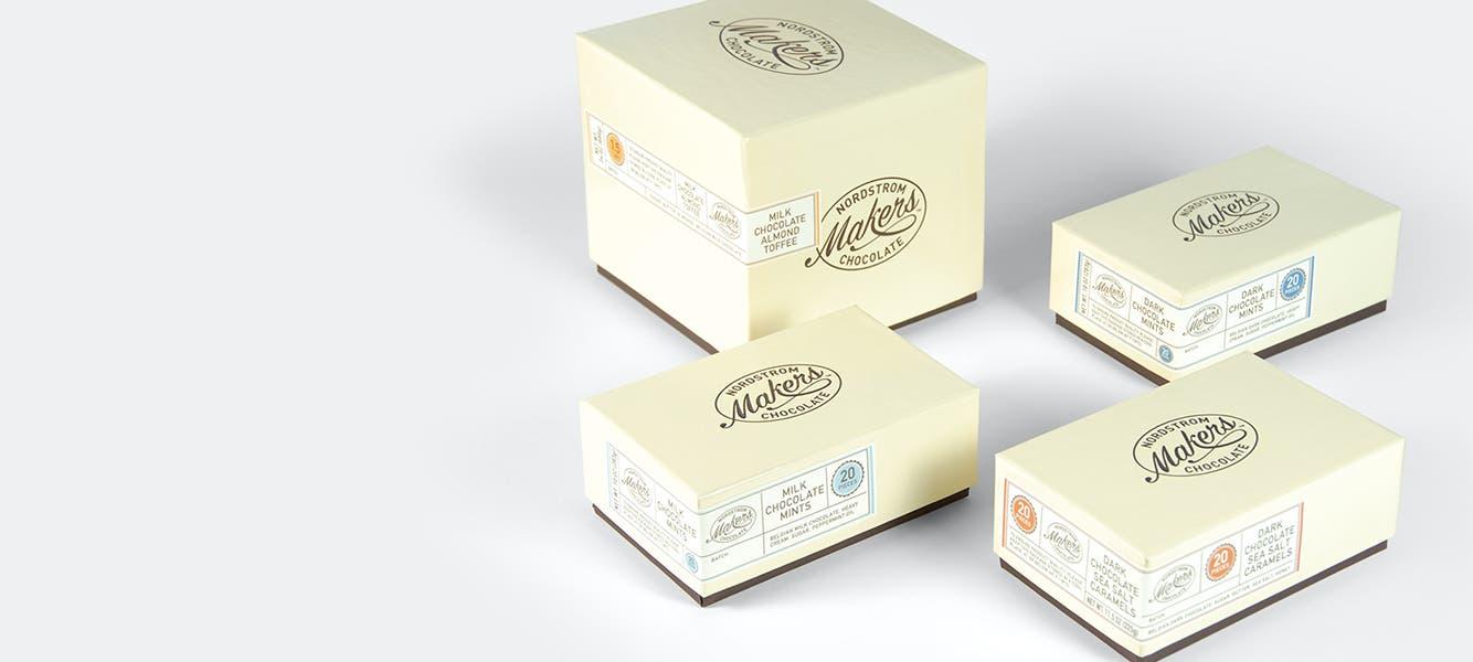 Nordstrom Maker's chocolate.