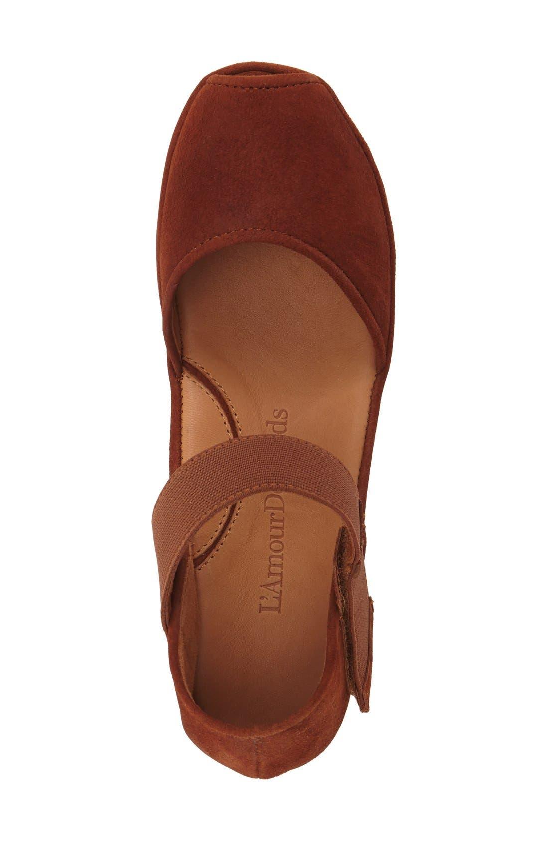 'Amadour' Platform Sandal,                             Alternate thumbnail 32, color,