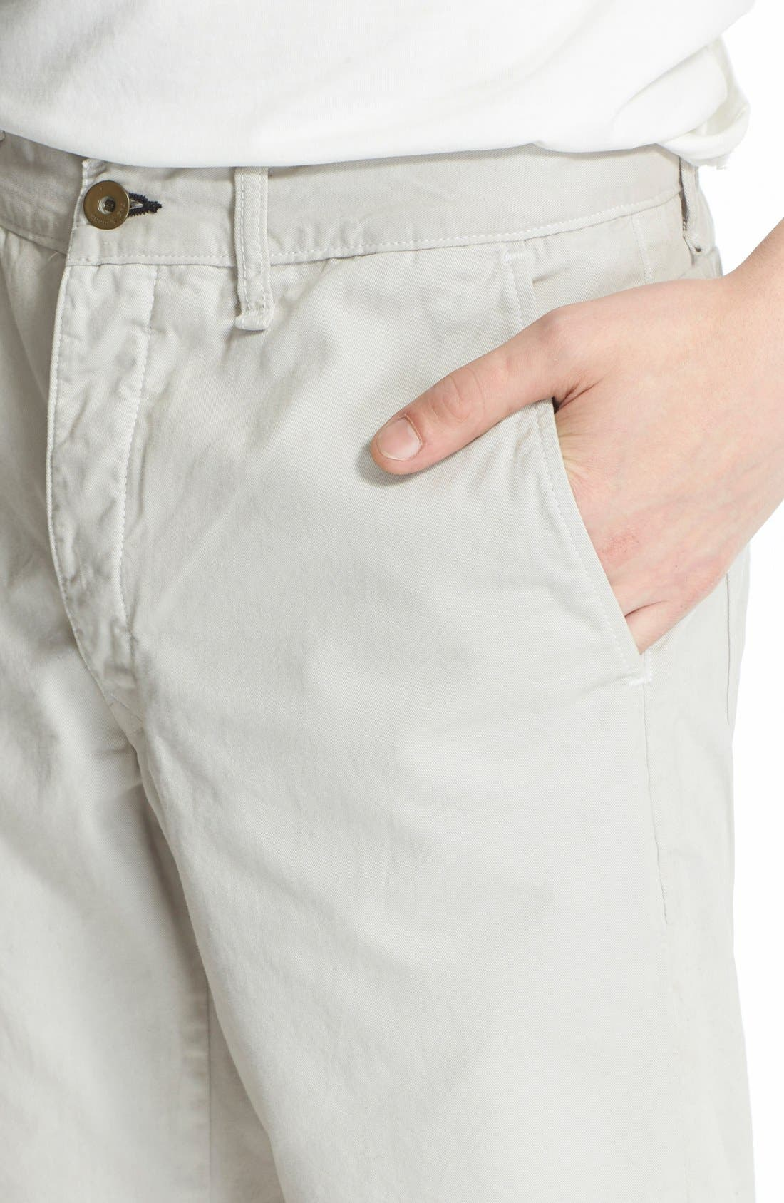 'Standard Issue' Cotton Shorts,                             Alternate thumbnail 4, color,                             099