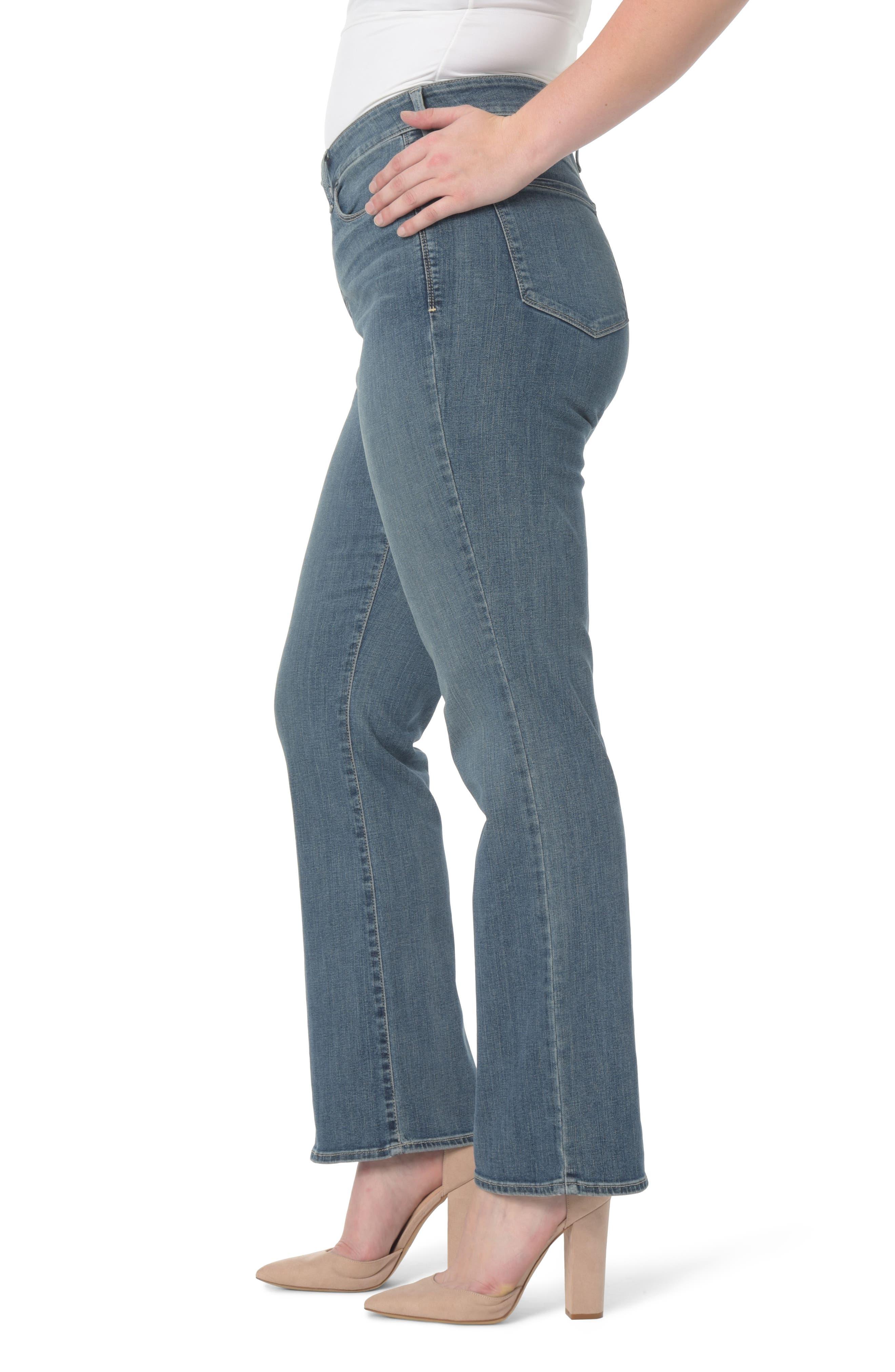 NYDJ,                             Barbara Stretch Bootcut Jeans,                             Alternate thumbnail 3, color,                             421