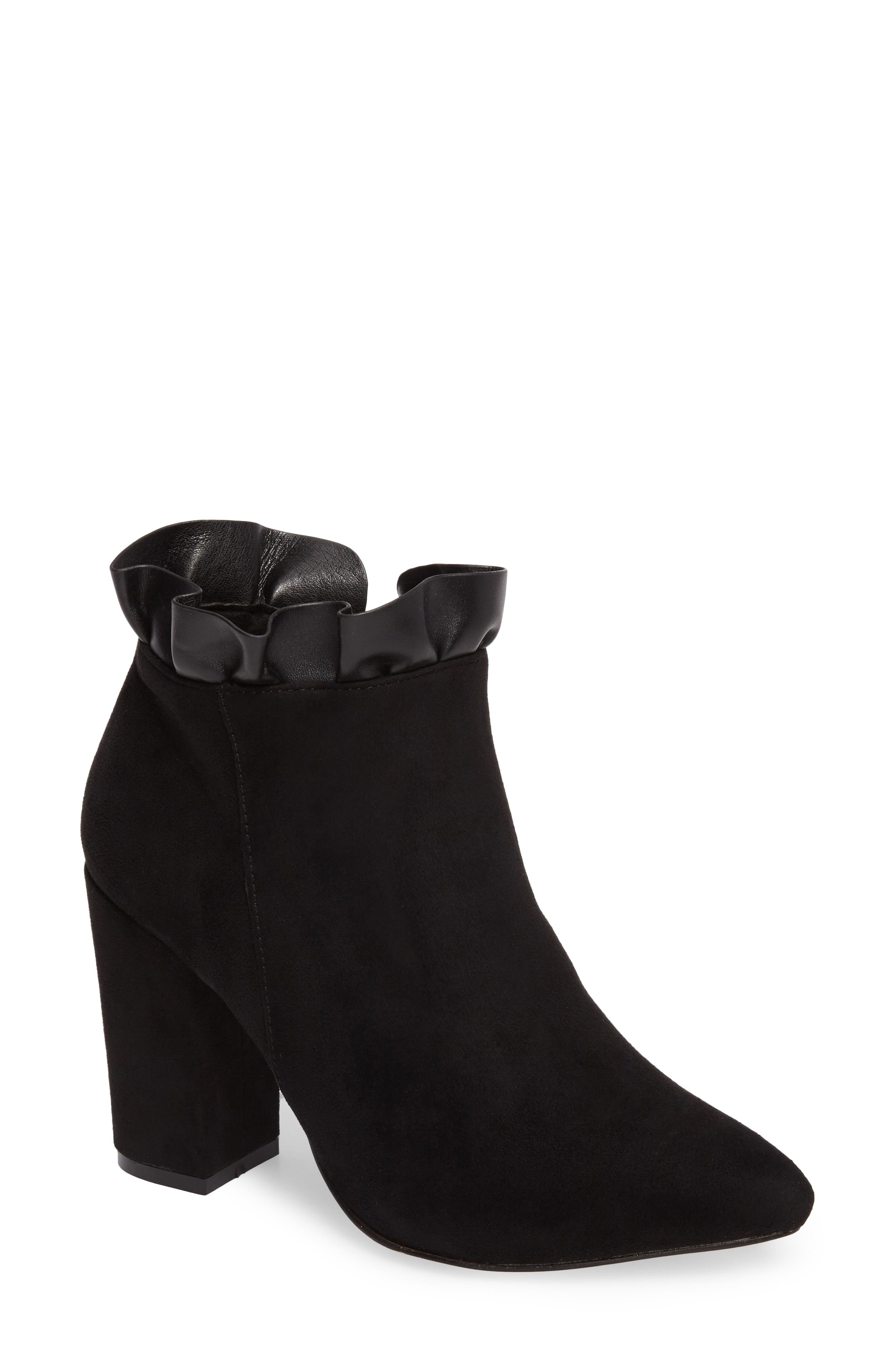 Katana Pointy Toe Bootie,                             Main thumbnail 1, color,