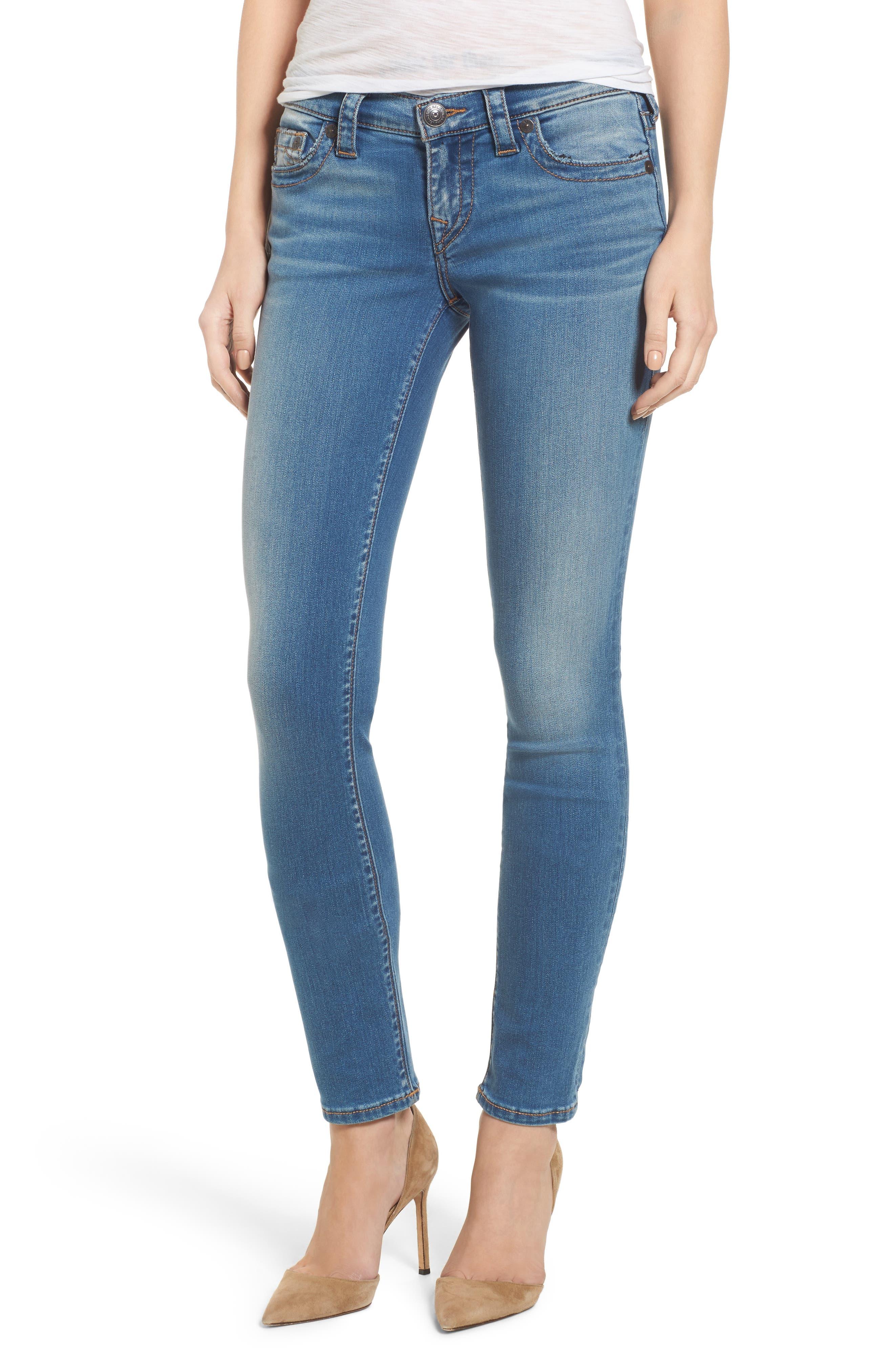 Stella Low Rise Skinny Jeans,                             Main thumbnail 1, color,                             400
