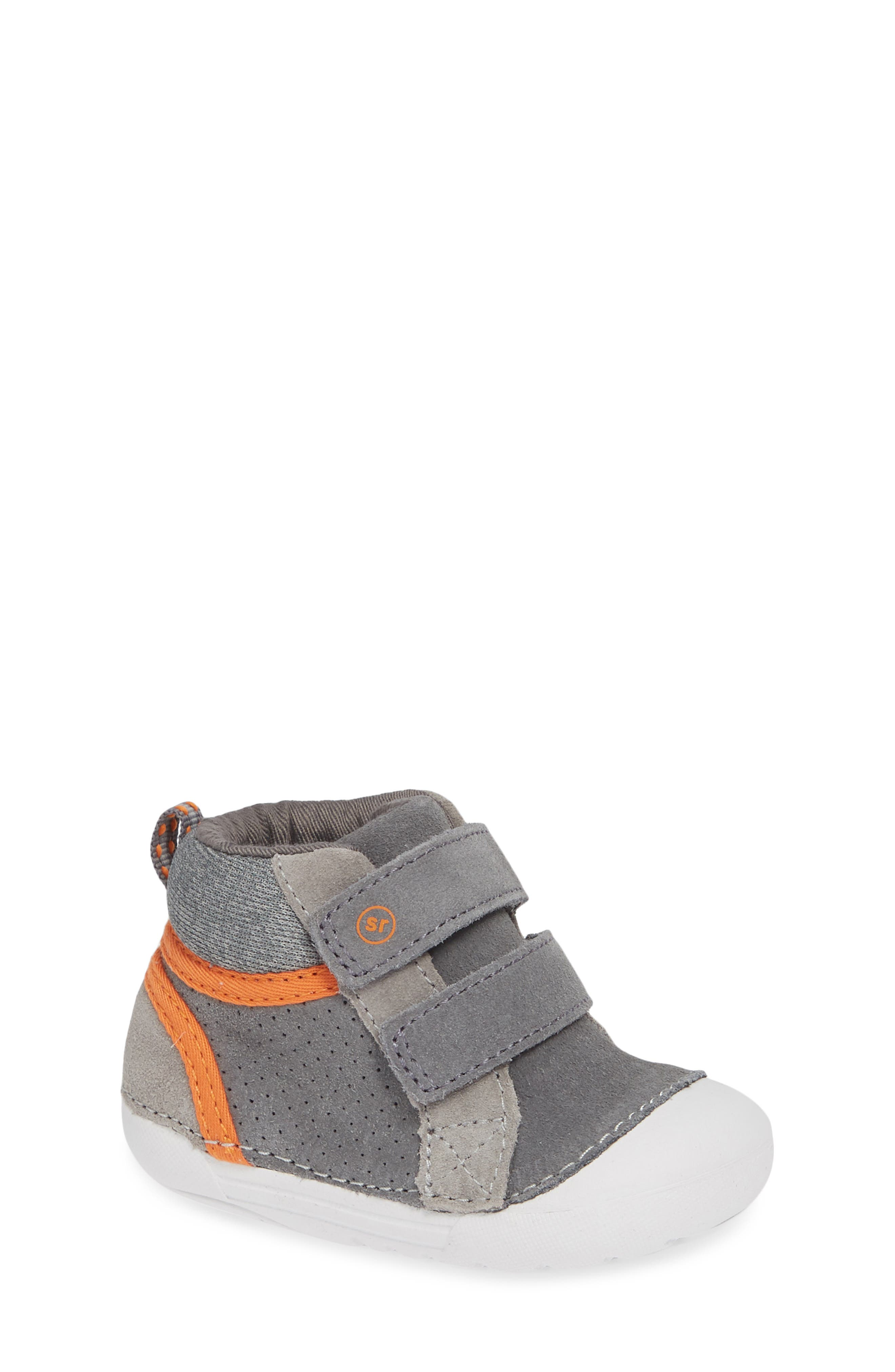 Soft Motion<sup>™</sup> Milo High Top Sneaker,                         Main,                         color, GREY