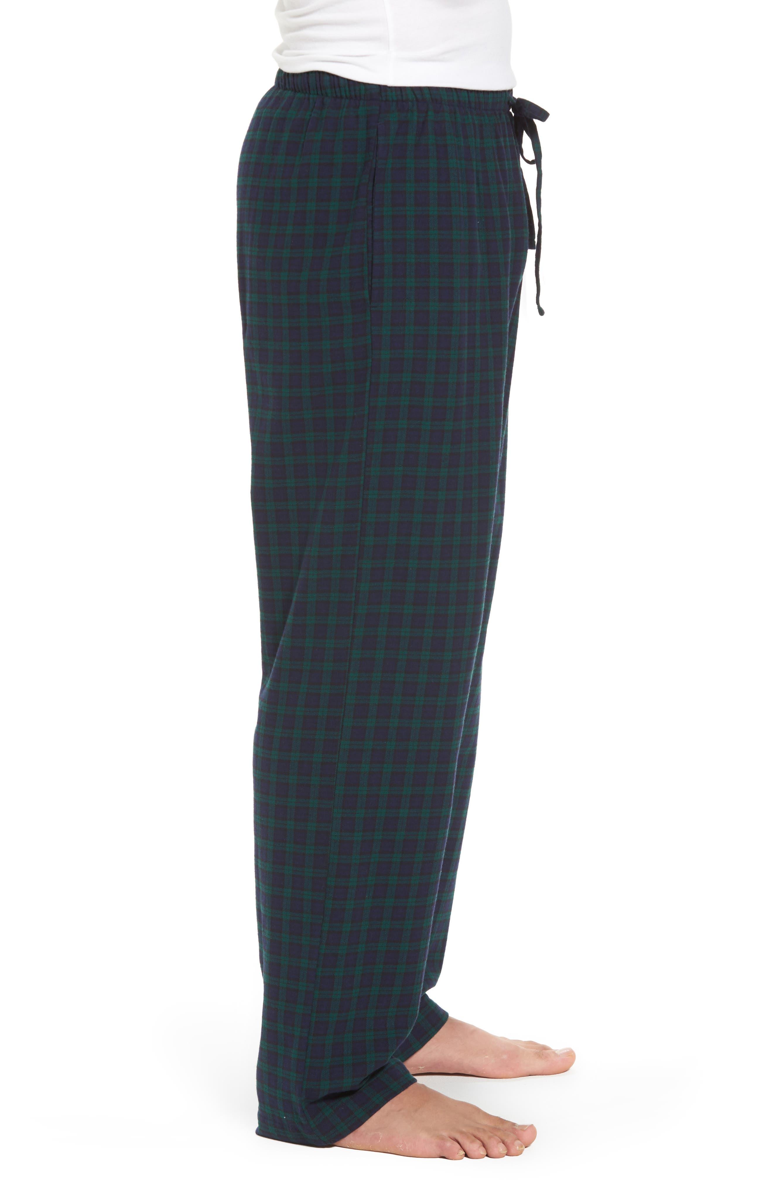 Flannel Pajama Pants,                             Alternate thumbnail 34, color,