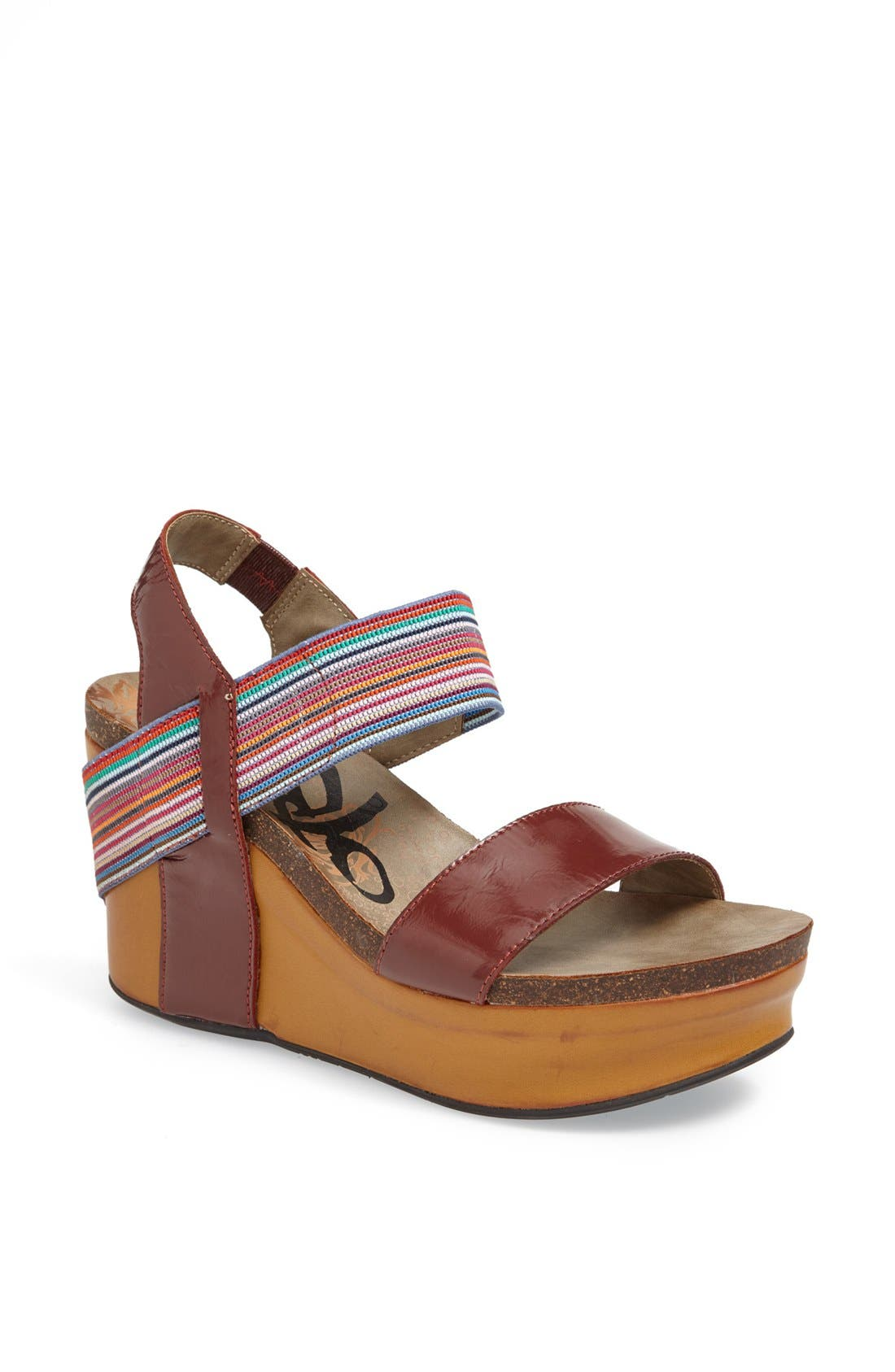 'Bushnell' Wedge Sandal,                             Main thumbnail 12, color,