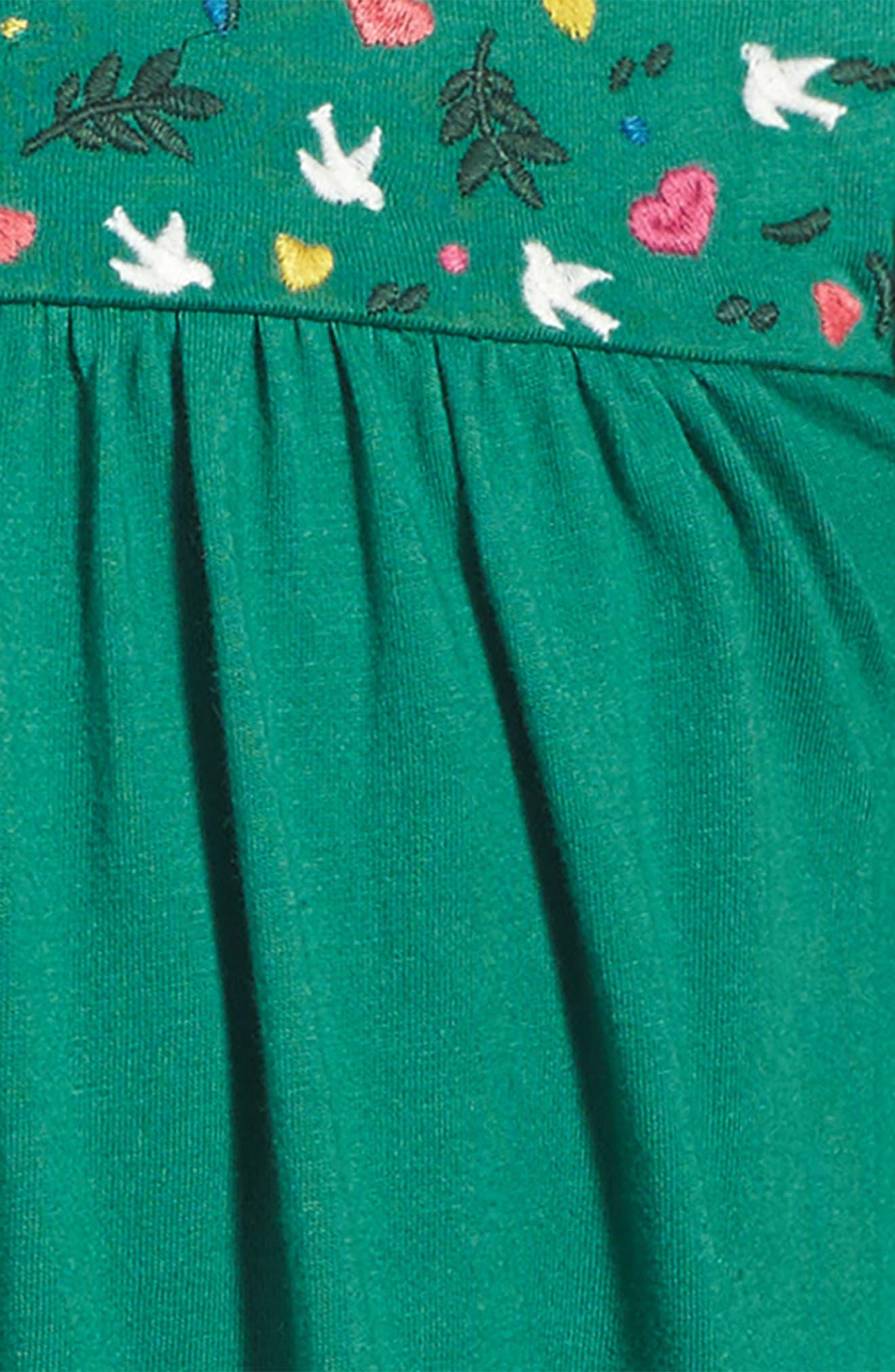 Frill Jersey Dress,                             Alternate thumbnail 3, color,                             315