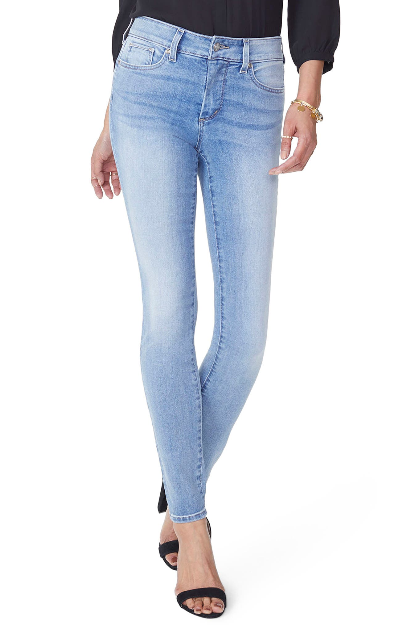 Ami High Waist Stretch Skinny Jeans,                             Main thumbnail 1, color,                             DREAMSTATE