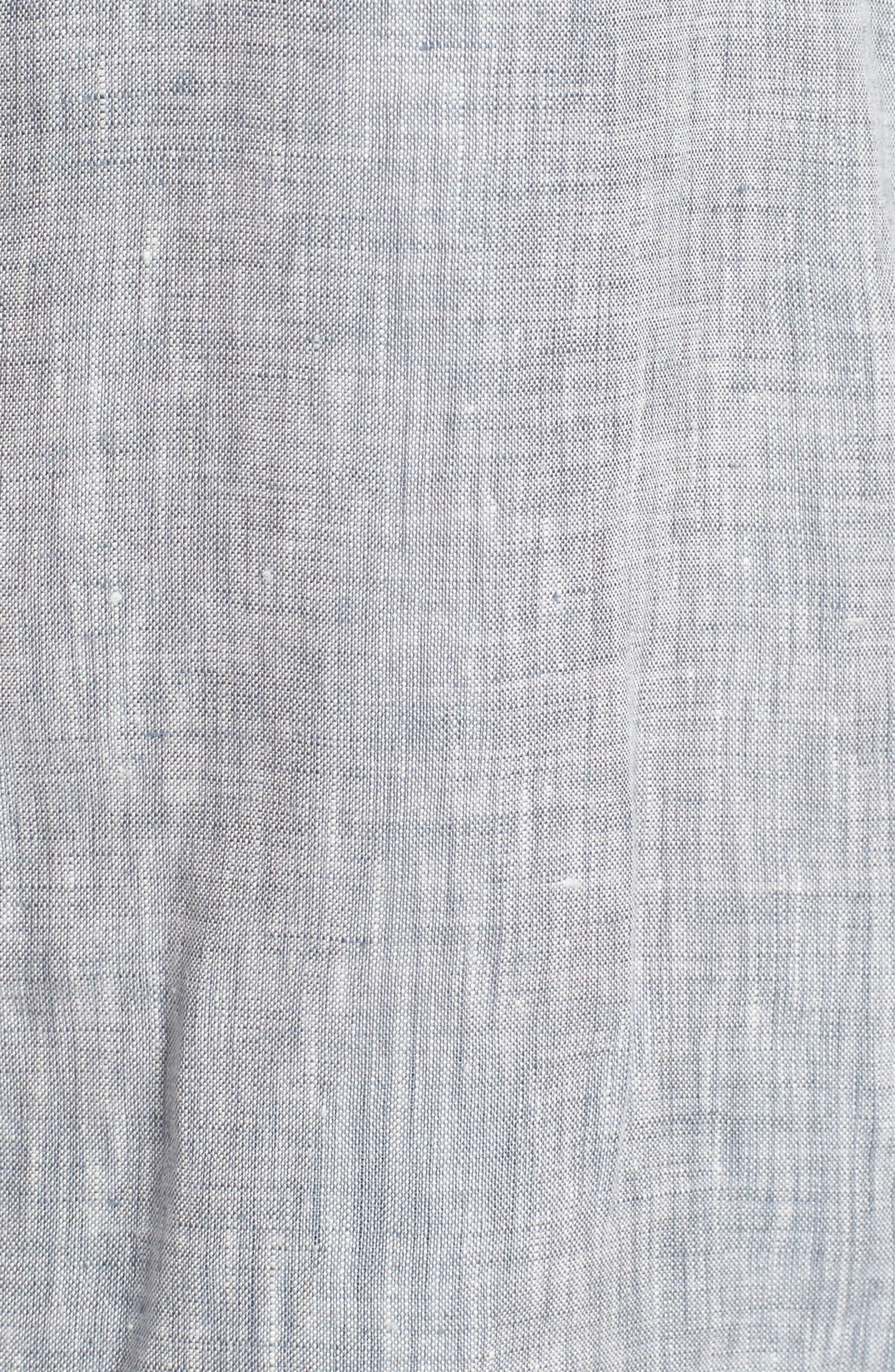 Organic Linen Shirt,                             Alternate thumbnail 11, color,