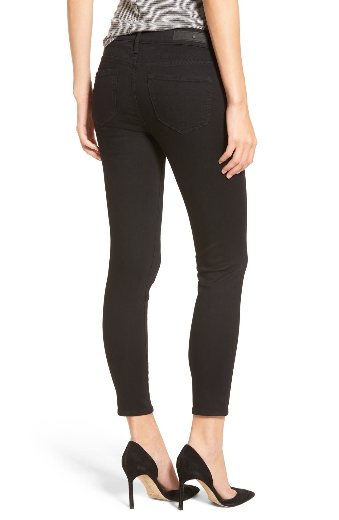 Legacy Crop Skinny Jeans,                             Alternate thumbnail 10, color,                             001