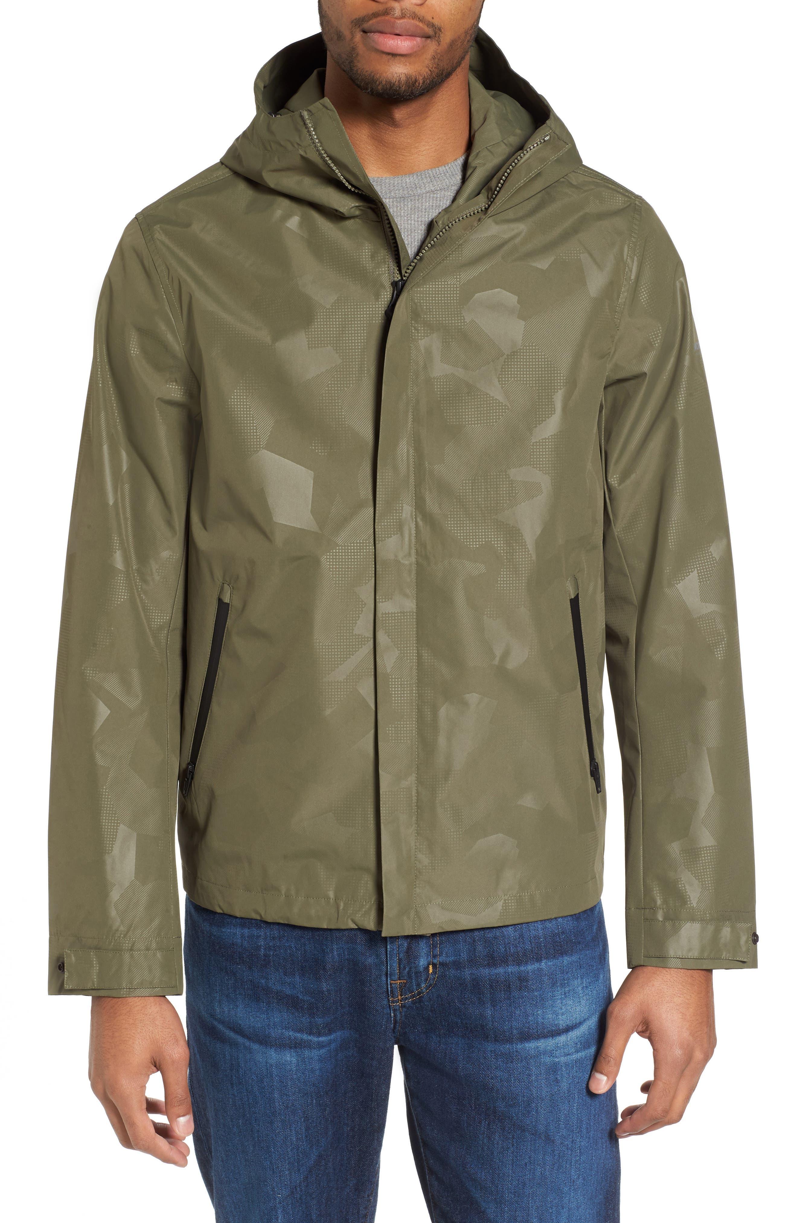 John Rich & Bros. Atlantic Camo Hooded Jacket,                             Alternate thumbnail 4, color,                             378