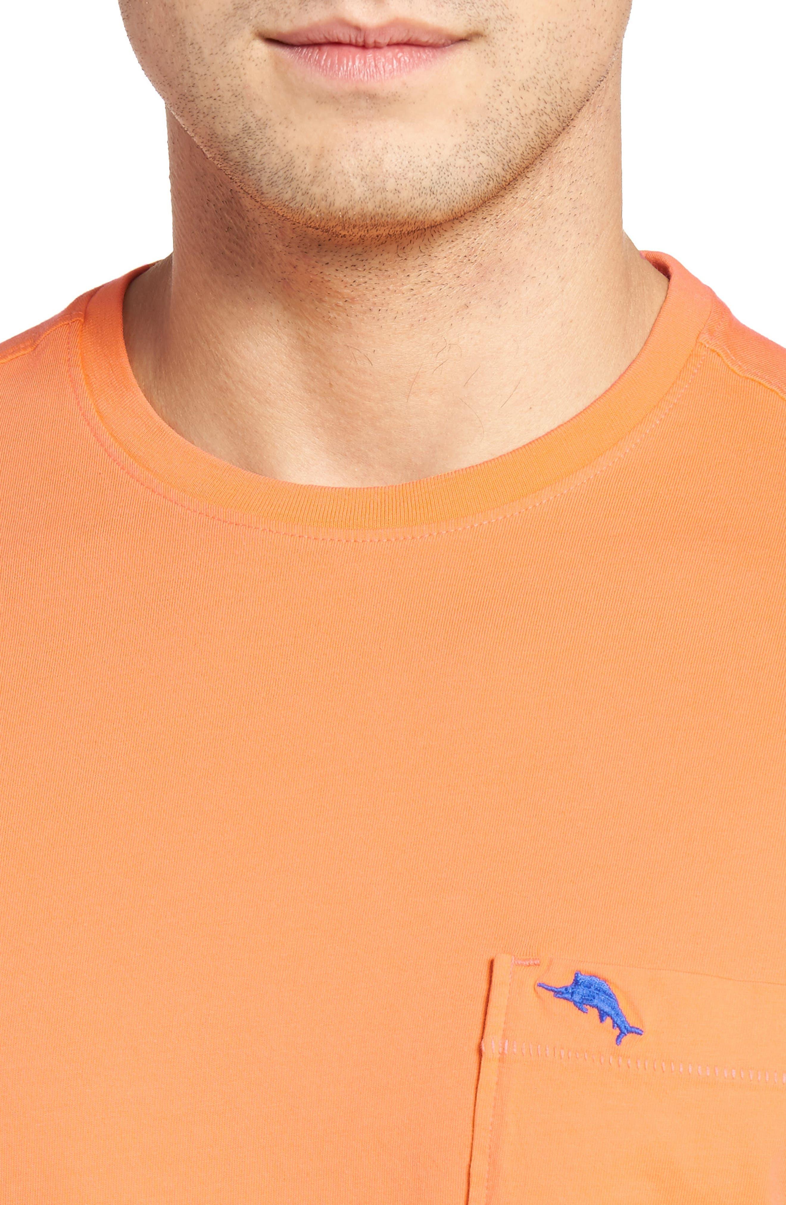 New Bali Sky Pima Cotton Pocket T-Shirt,                             Alternate thumbnail 112, color,