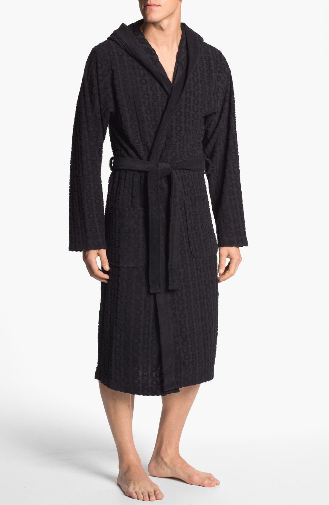 HUGO BOSS 'Innovation 3' Robe, Main, color, 001