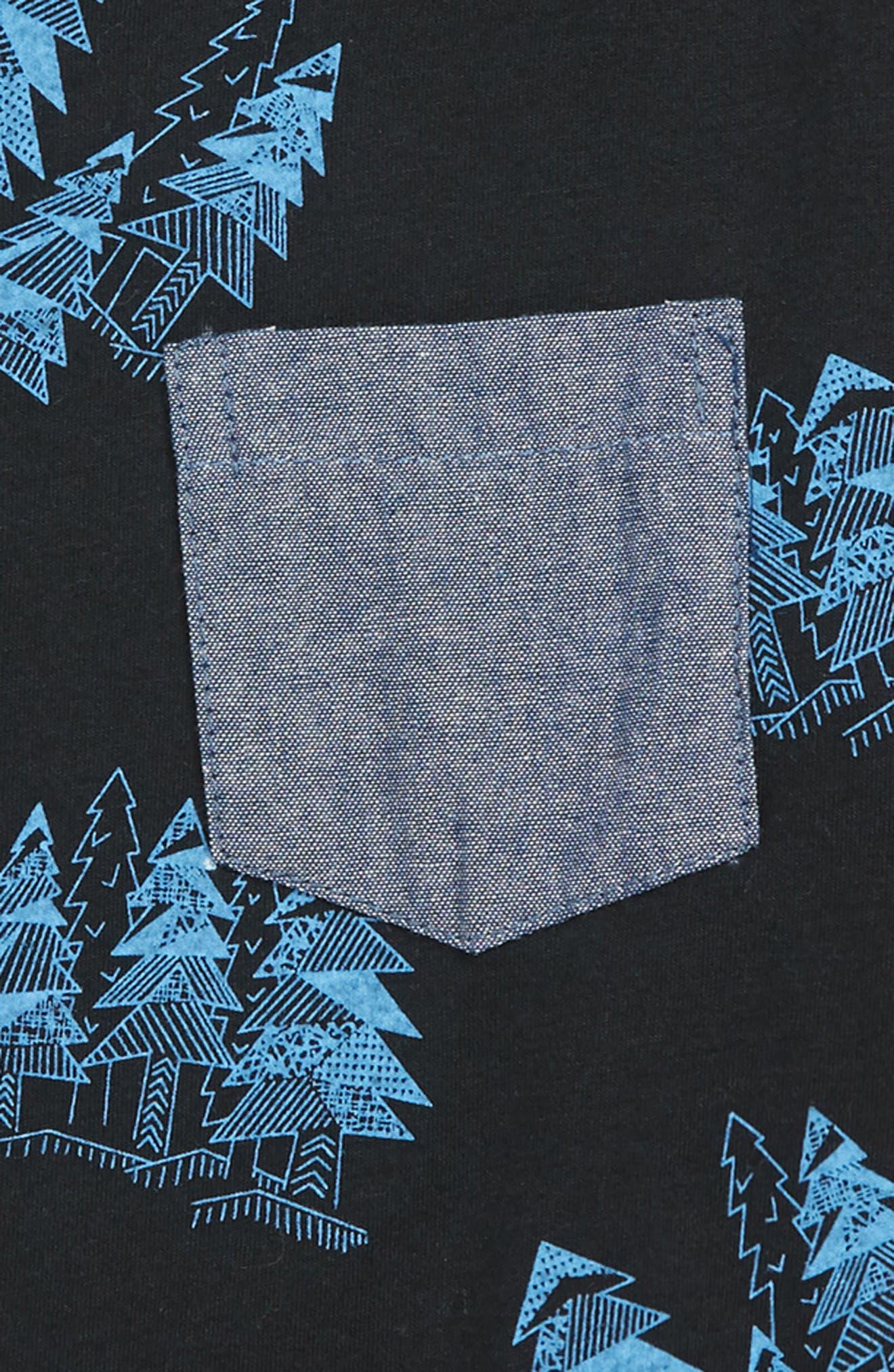 Trav Pocket T-Shirt,                             Alternate thumbnail 2, color,                             SPRUCE