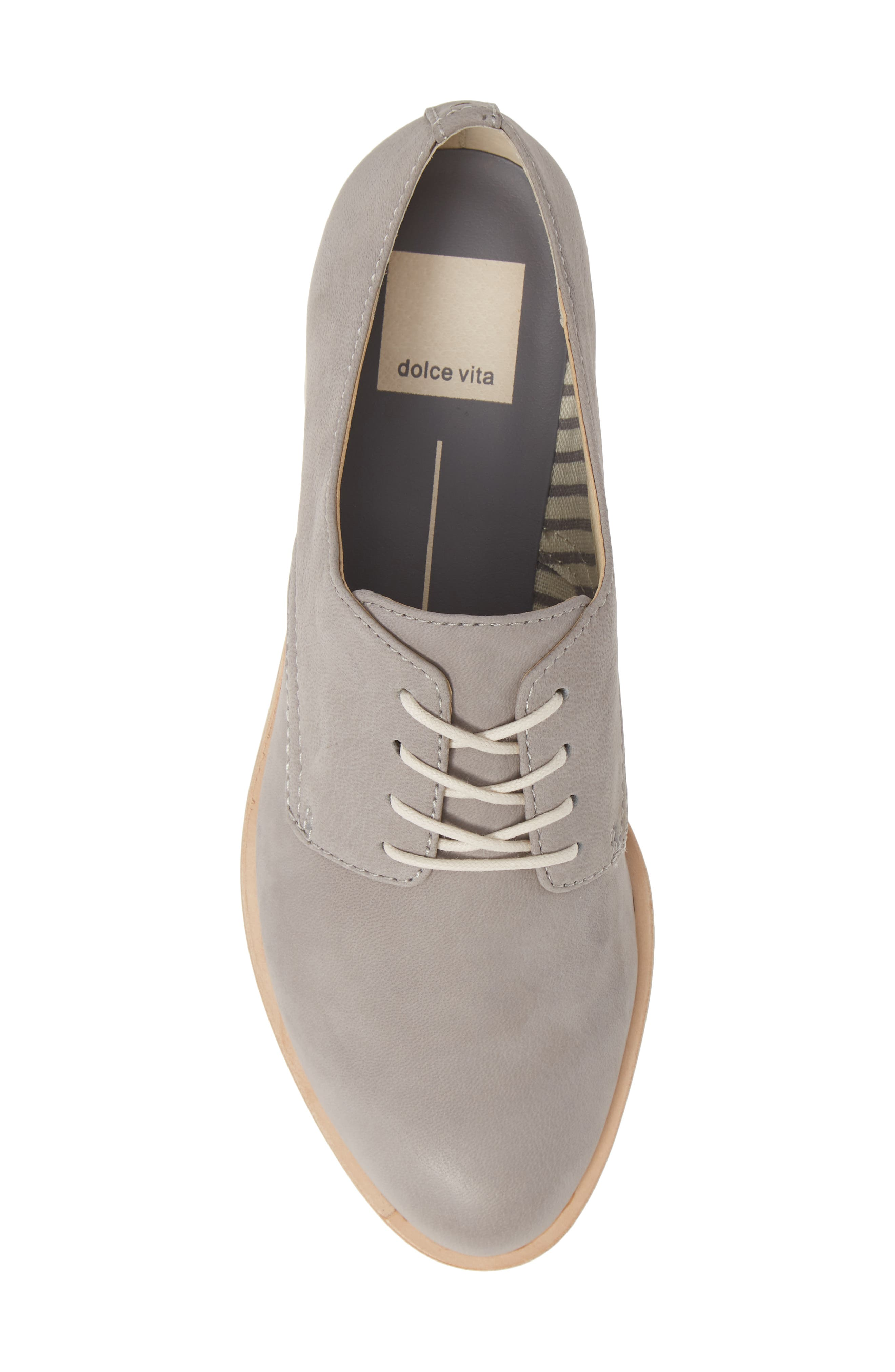 DOLCE VITA,                             Kyle Derby,                             Alternate thumbnail 5, color,                             GREY LEATHER