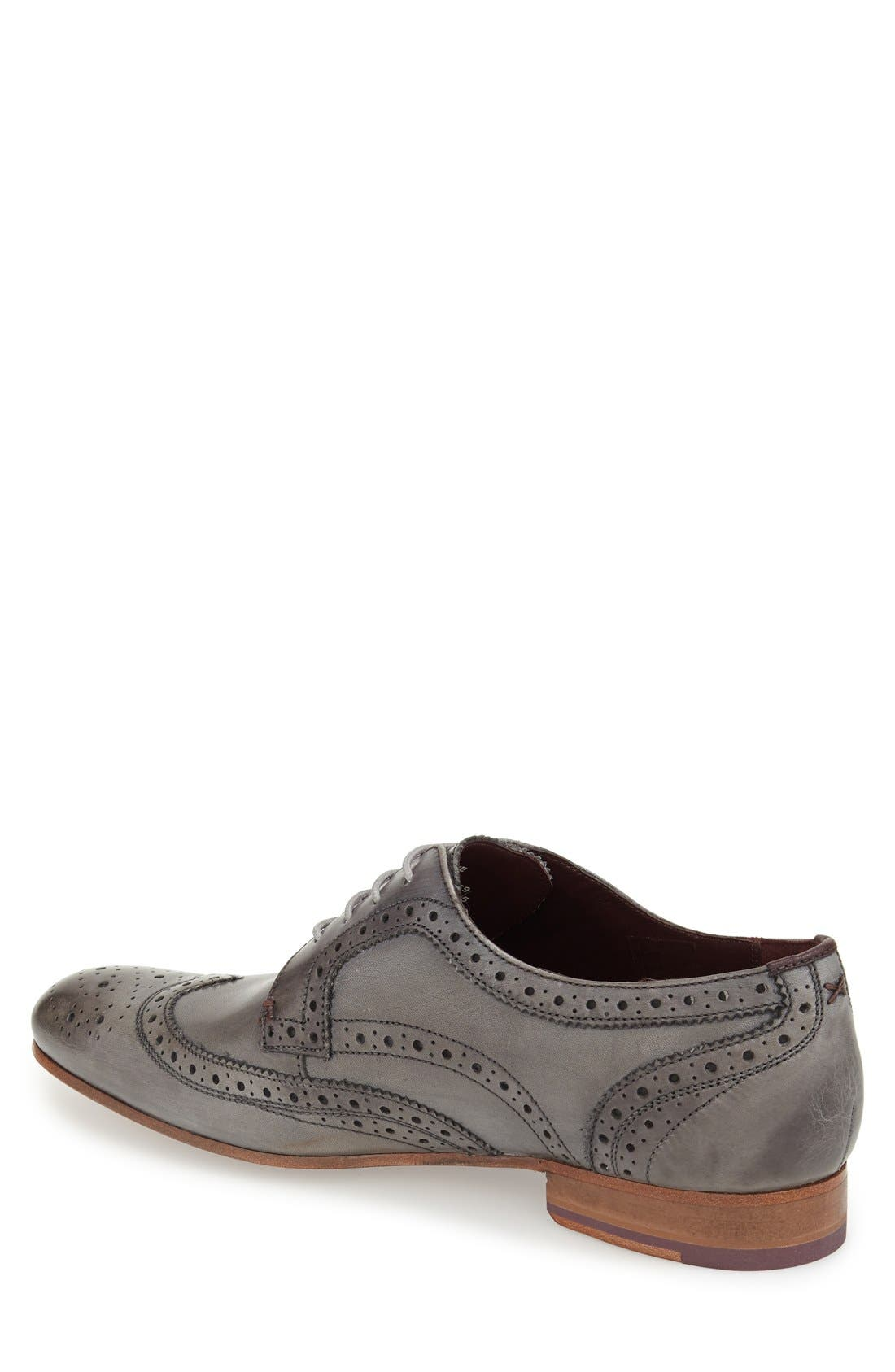 'Gryene' Wingtip Oxford,                             Alternate thumbnail 2, color,                             020