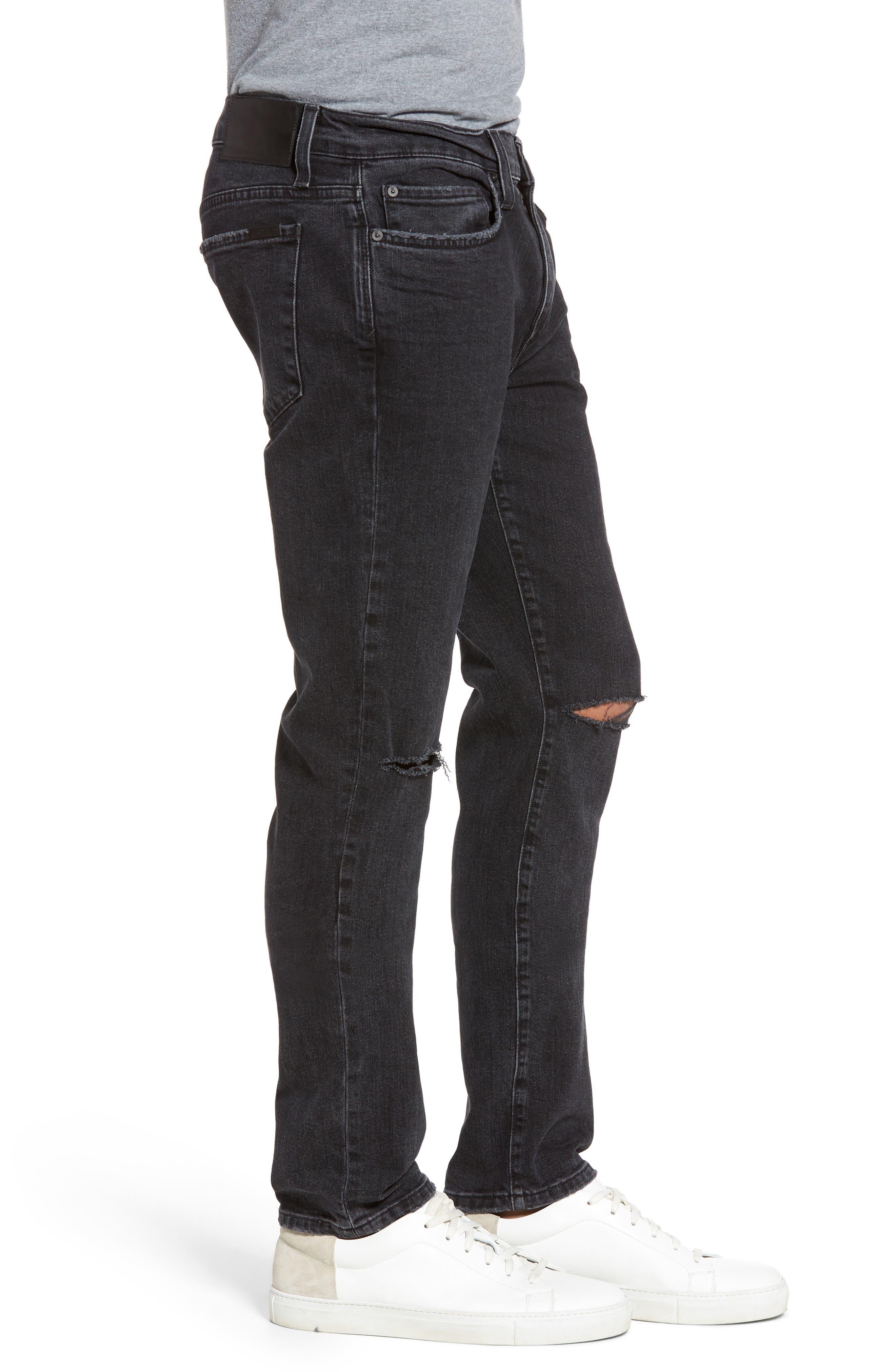 Brixton Slim Straight Fit Jeans,                             Alternate thumbnail 3, color,                             438