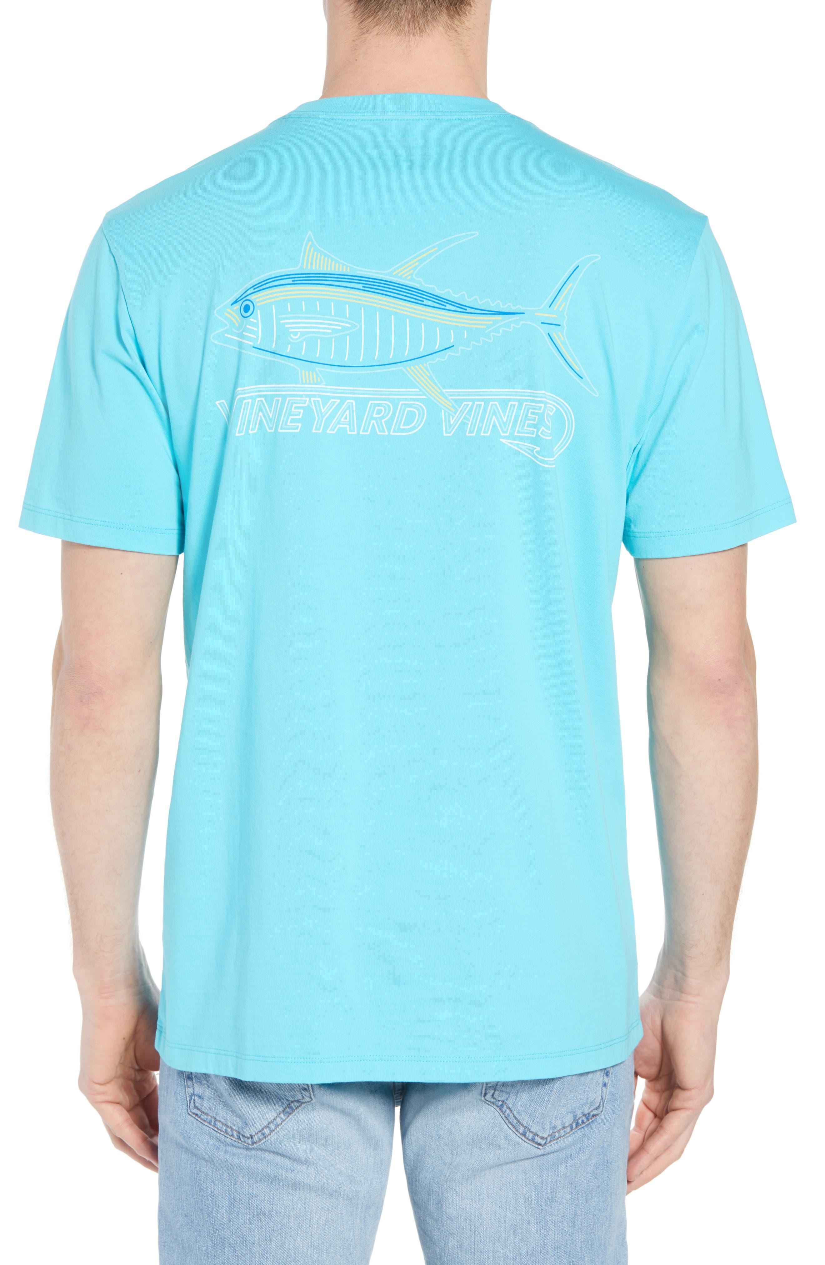 Tuna Hook Regular Fit Crewneck T-Shirt,                             Alternate thumbnail 2, color,