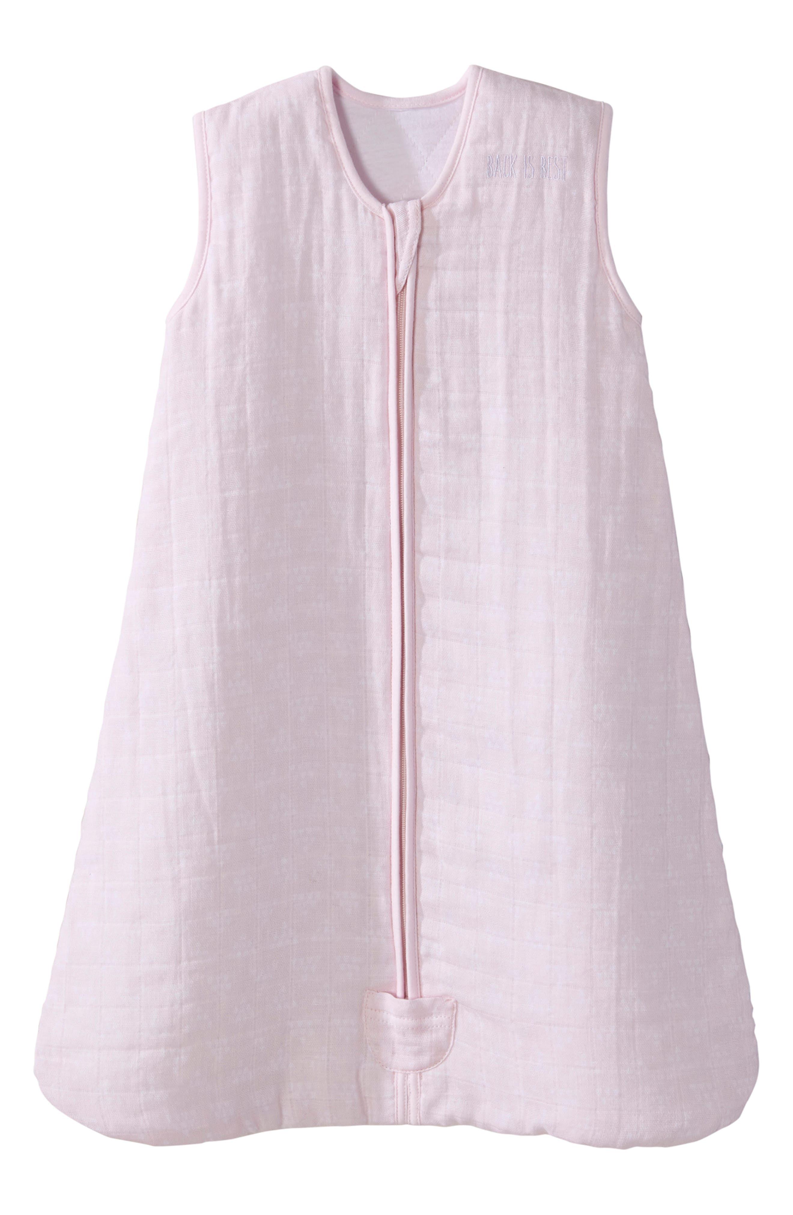 Halo Platinum Series Sleepsack(TM) Quilted Muslin Wearable Blanket Size 612M  Pink